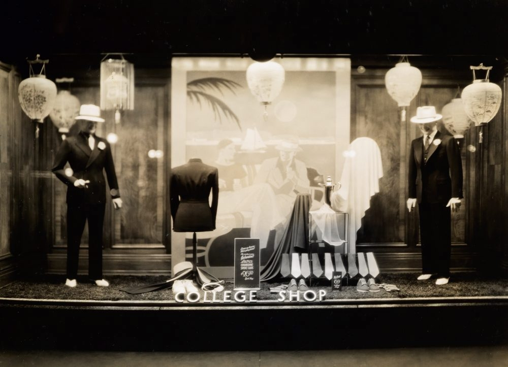 An album of circa 1930s photos of window displays from the long-closed Kleinhans menswear store in Buffalo will have a permanent home in an archive room in Kleinhans Music Hall.