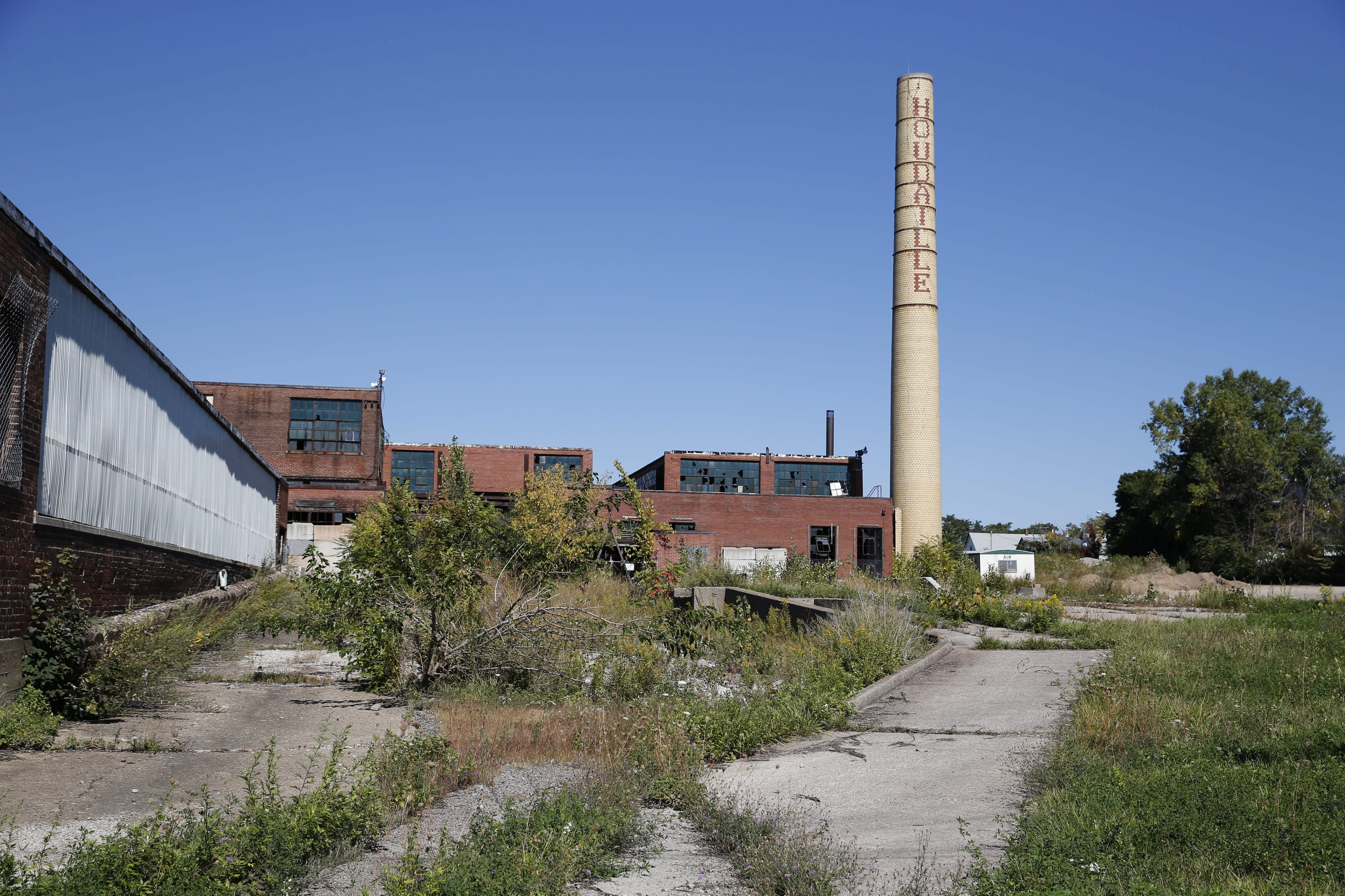 A vacant industrial complex on Northland Avenue, shown Sept. 26, is one of the properties about to undergo environmental and business studies ordered by the Buffalo Urban Development Corp.