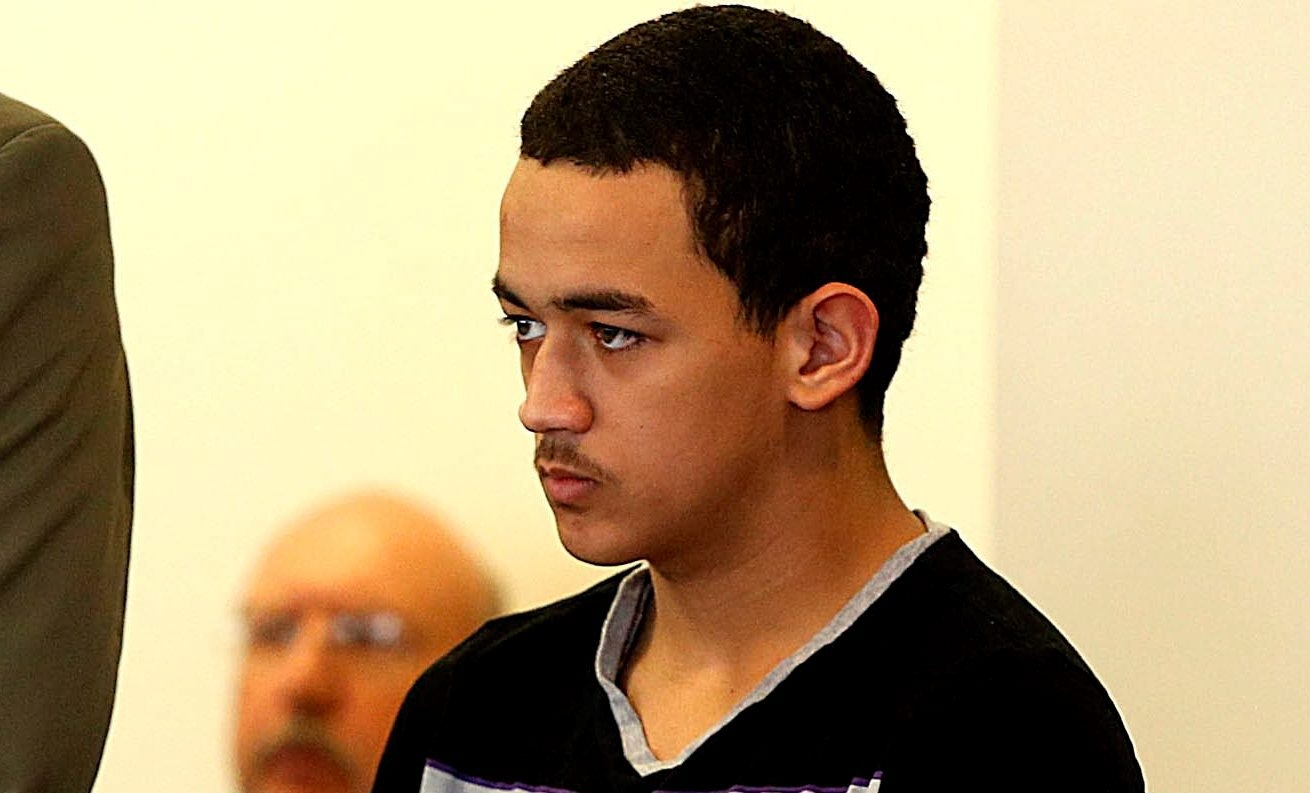 News file photo shows Jean Sanchez at the time of his arraignment. Sanchez, now 14, was 13 when he was accused of sexually abusing and killing 13-year-old Ameer Al-Shammari. (News file photo)