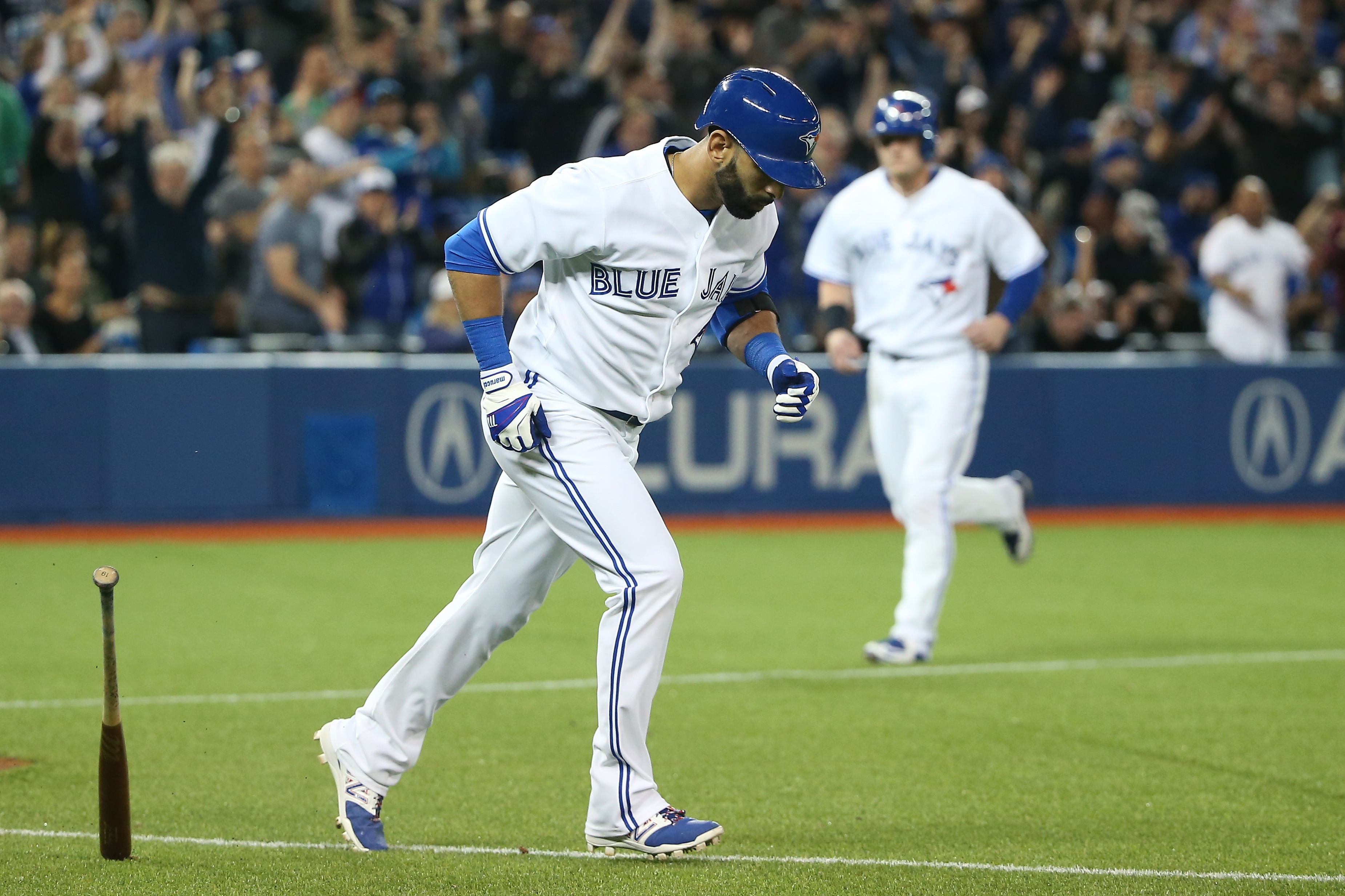 Toronto's Jose Bautista angered the Baltimore Orioles with his home run trot in their game last Tuesday at Rogers Center.