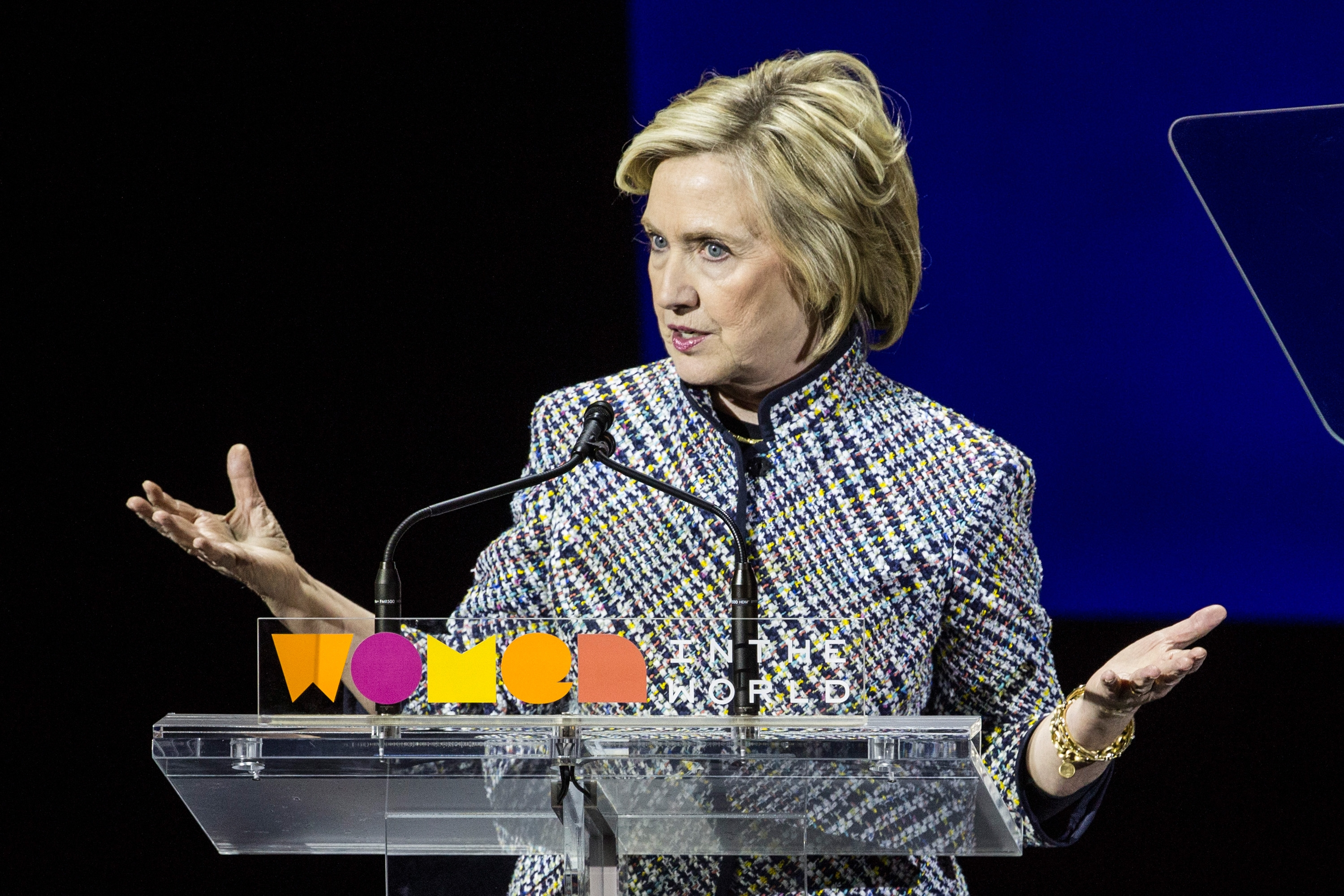Hillary Clinton was secretary of state while her foundation was raking in millions of dollars from foreign donors. (Getty Images file photo)