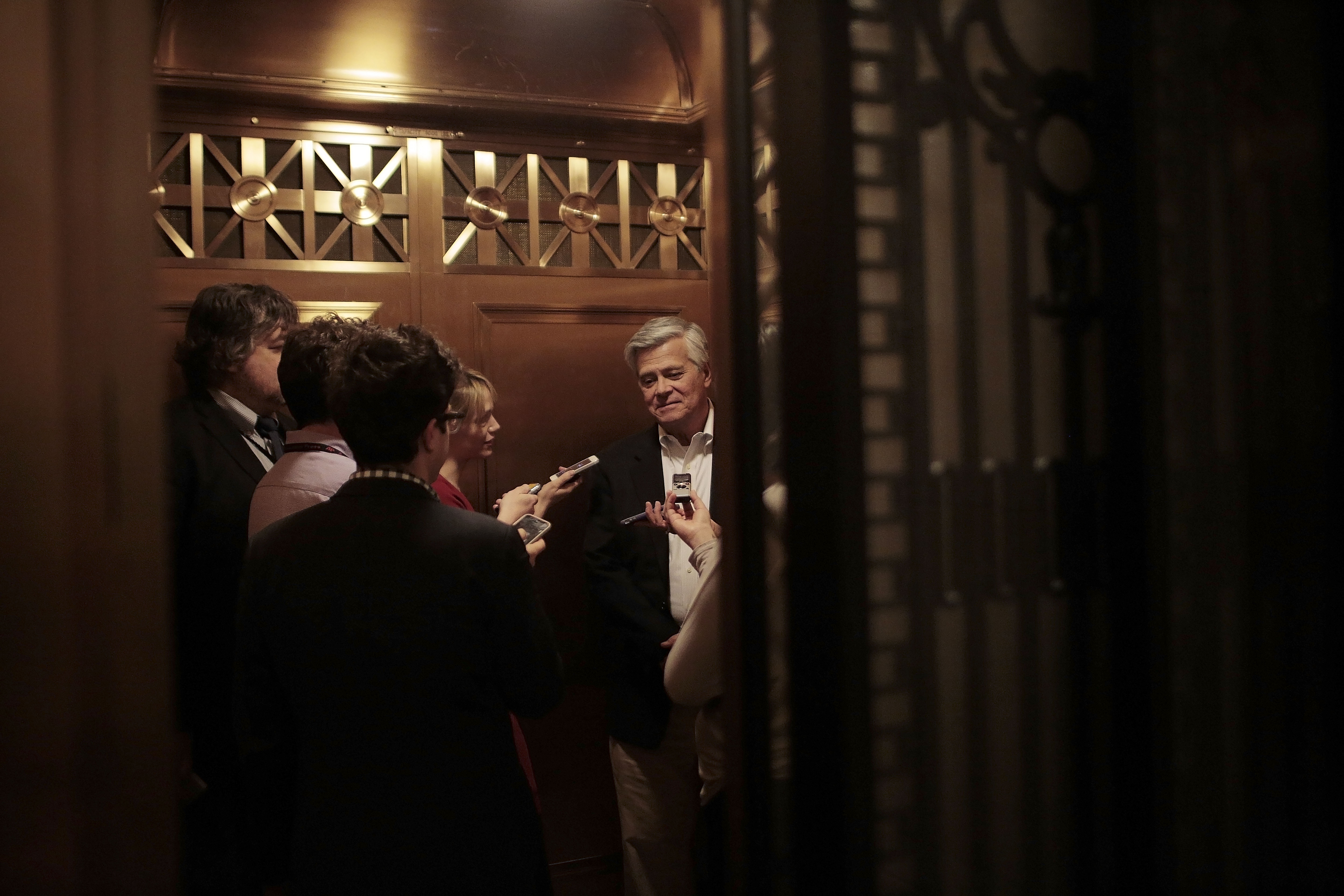 Senate Majority Leader Dean Skelos is being investigated for ties he might have to employment dealings by his son.