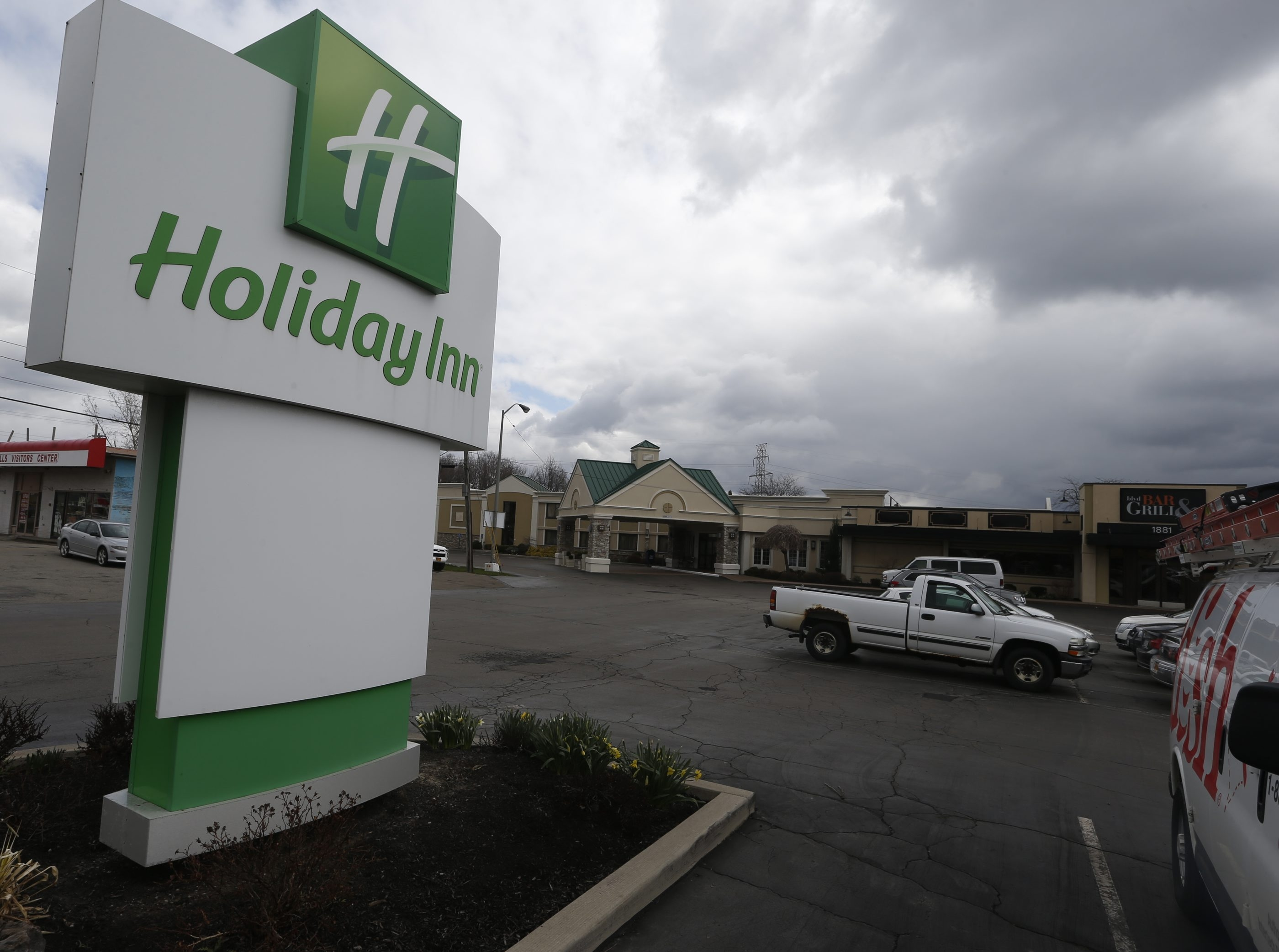 Holiday Inn Buffalo-Amherst, 1881 Niagara Falls Blvd., next to Youngmann Highway, has been in the heart of one of the region's biggest commercial districts for nearly 50 years. Richmond, Va.-based CarMax Inc. intends to build a dealership on the property.