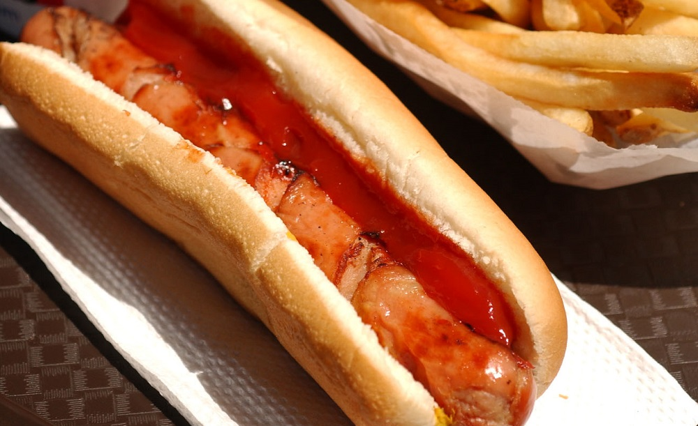 A regular Ted's hot dog runs for 91-cents all day on July 19. (Sharon Cantillon/News file photo)
