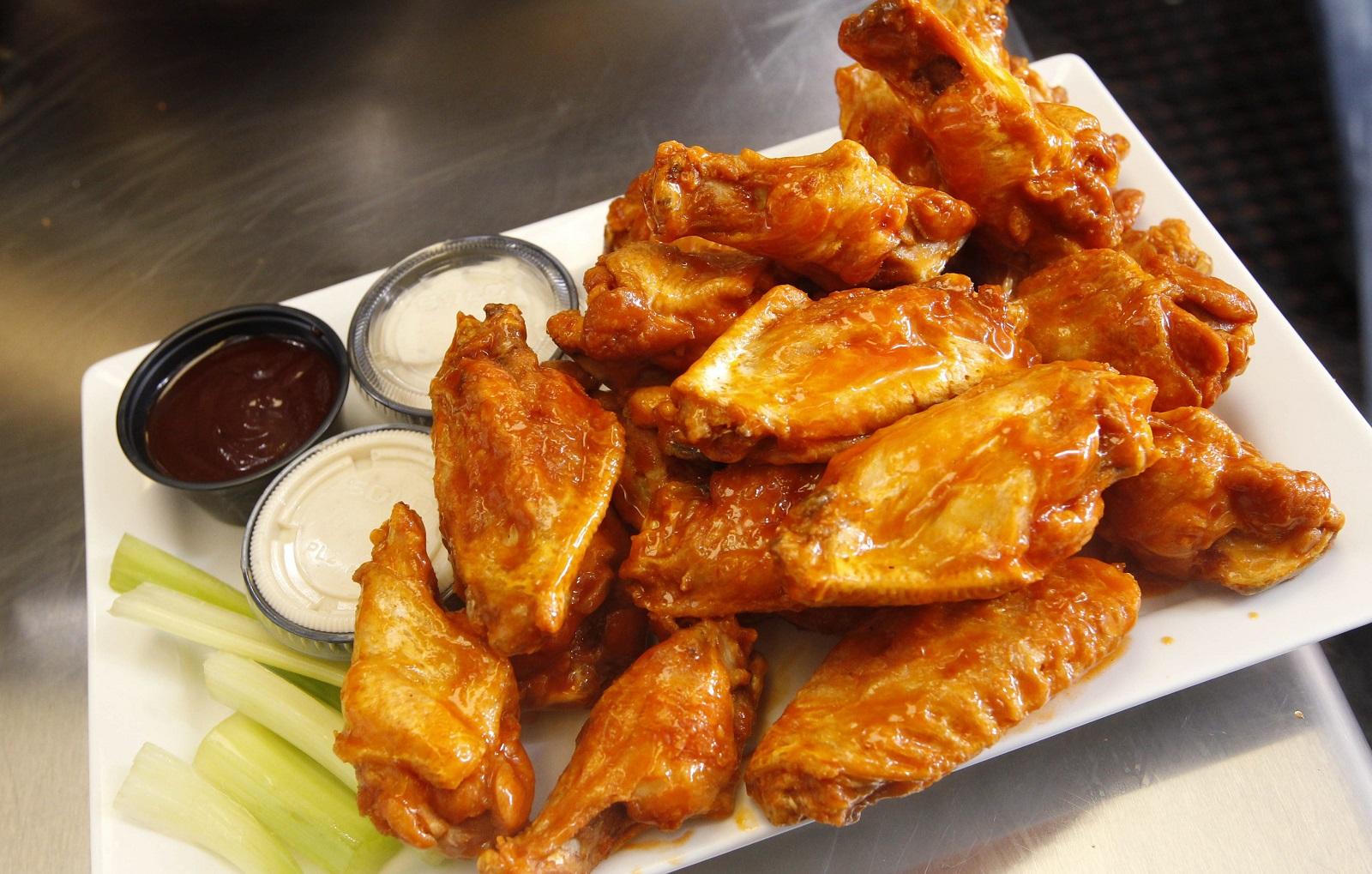 Anchor Bar wings. (Sharon Cantillon/Buffalo News file photo)