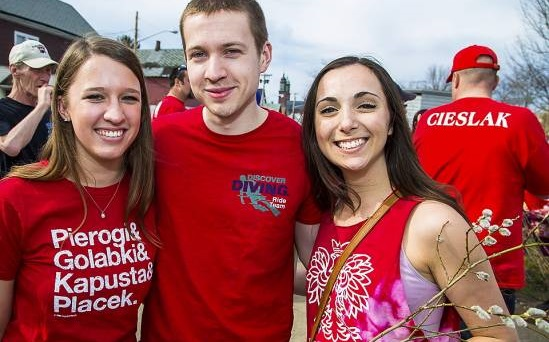 Polish t-shirts and pussy willow slapping are just two things on your Dyngus Day bucket list. (Don Nieman/Special to the News)