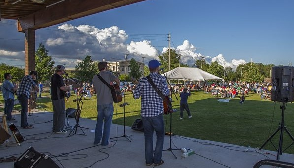 Local Celtic band Crikwater was part of Buffalo River Fest Park's 2014 concert series. Take a look at the post to see what's on tap for this summer. (Don Nieman/Special to the News)