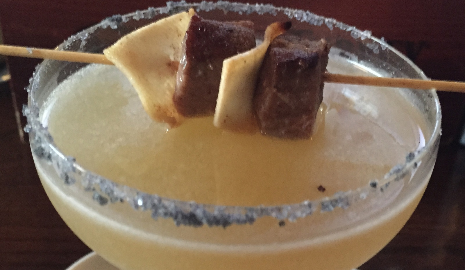 A close-up of the Charlie Schwabl's Queen City Daiquiri from Mes Que on Hertel. (Lizz Schumer/Special to the News)
