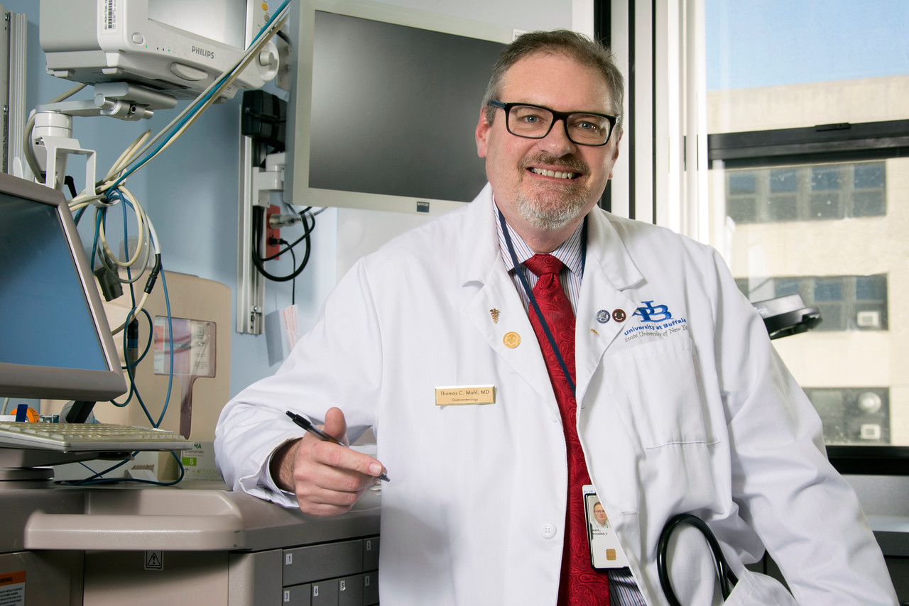 Dr. Thomas Mahl, a Buffalo gastroenterologist, says gut health will be a key area of research in the coming decades. (Courtesy University at Buffalo)