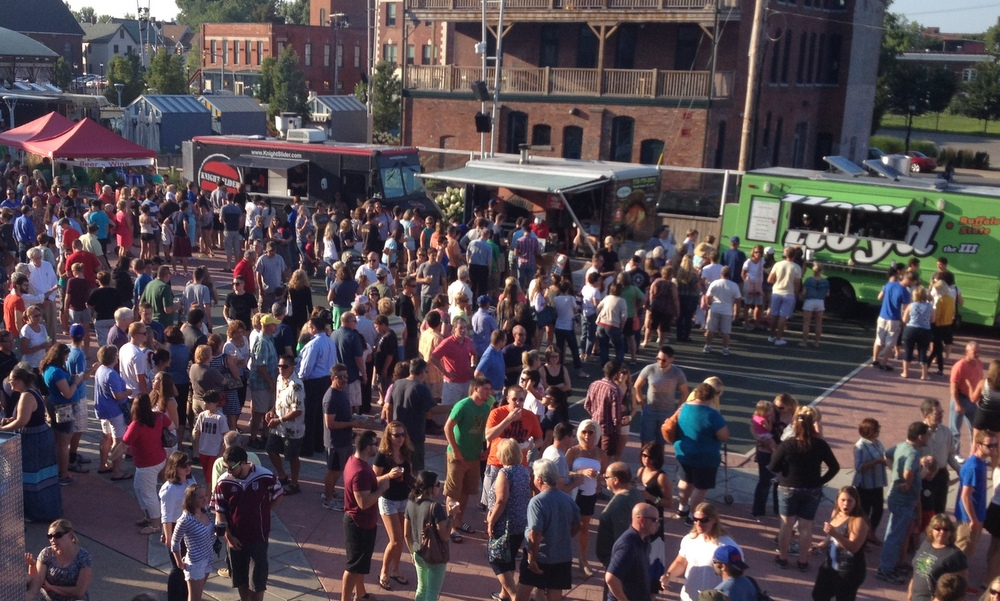 Food Truck Tuesdays at Larkin Square will offer up to 32 mobile edibles vendors from 5-8 p.m.