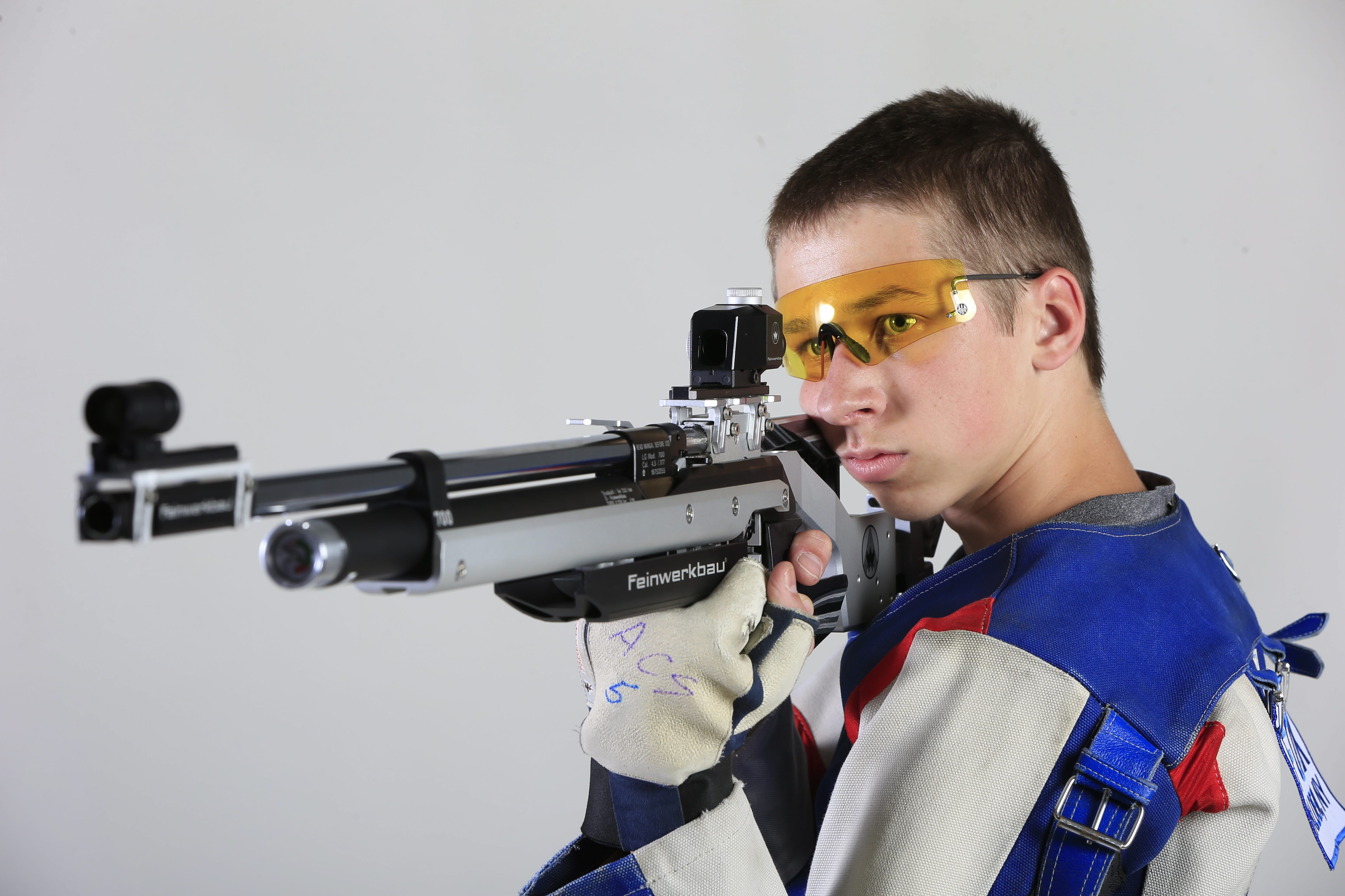 2015 Prep Talk Player of the Year for rifle: Noah Fox, Alden. (Harry Scull Jr./Buffalo News)