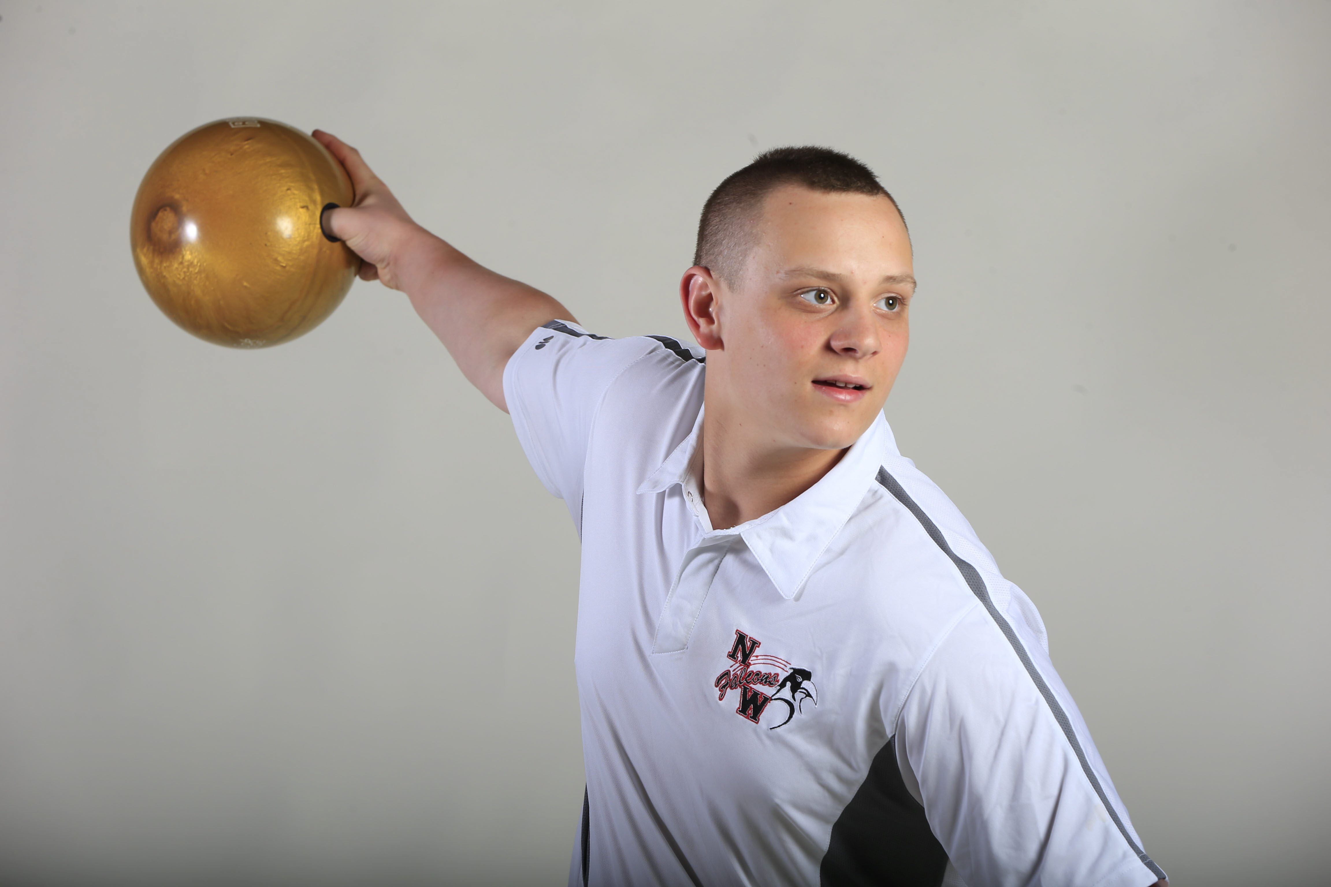 Prep Talk Player of the Year for boys bowling: Nate Maloney. (Harry Scull Jr./Buffalo News)