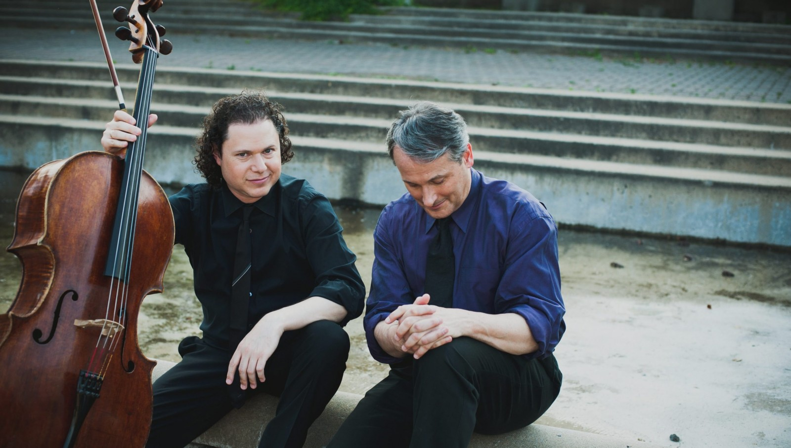 Matt Haimovitz and Christopher O'Riley are presenting two evenings of Beethoven in the next Buffalo Chamber Music Society concert season.