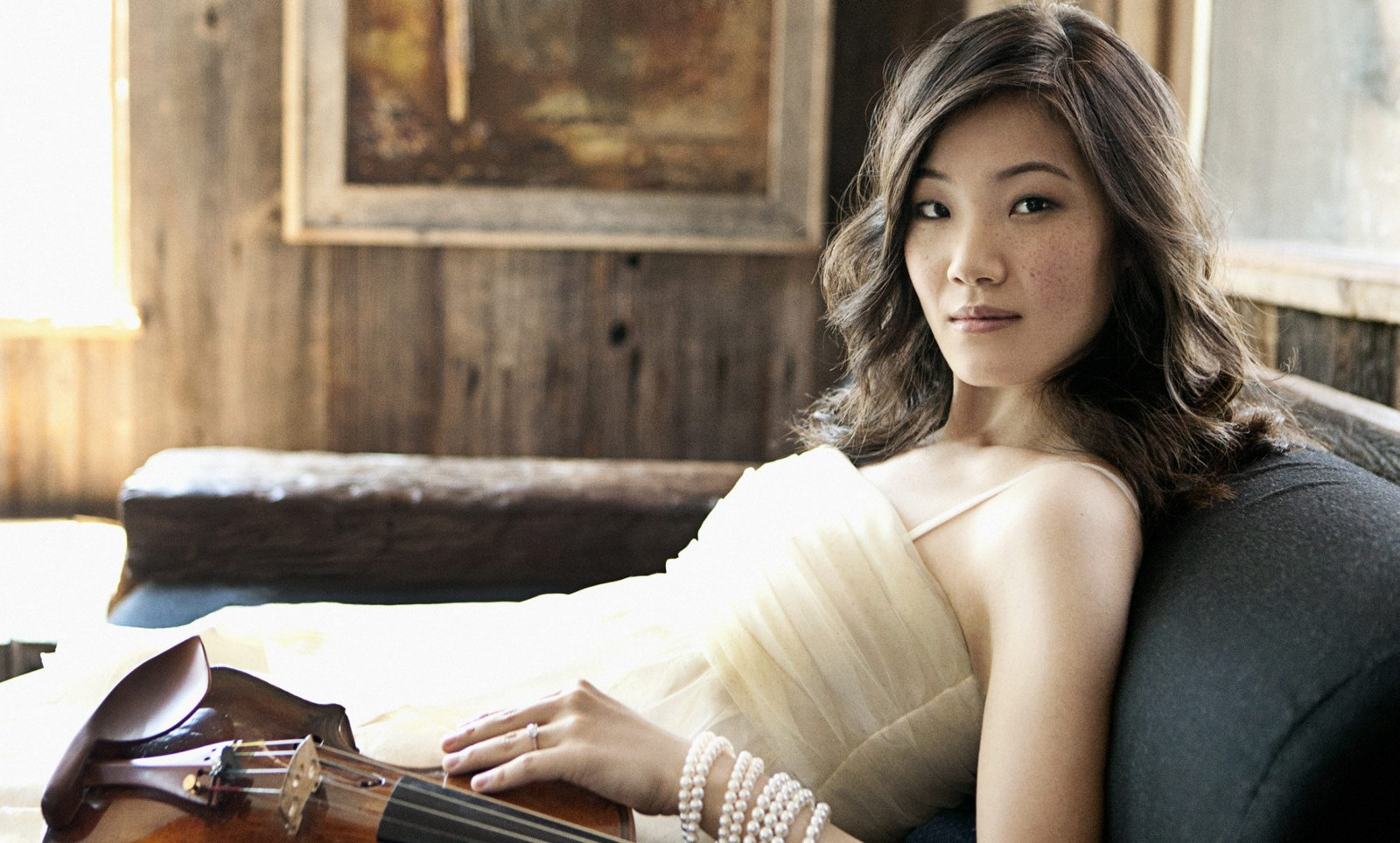 Violinist Rachel Lee Priday performs twice with the BPO in Kleinhans Music Hall.