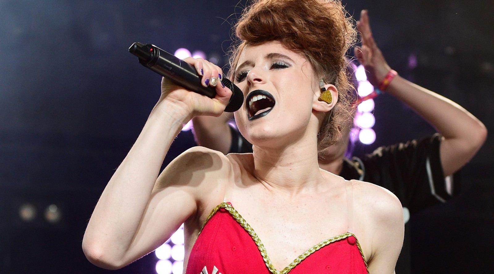 Kiesza, performing above at Coachella, will make a stop in Buffalo. (Getty Images)