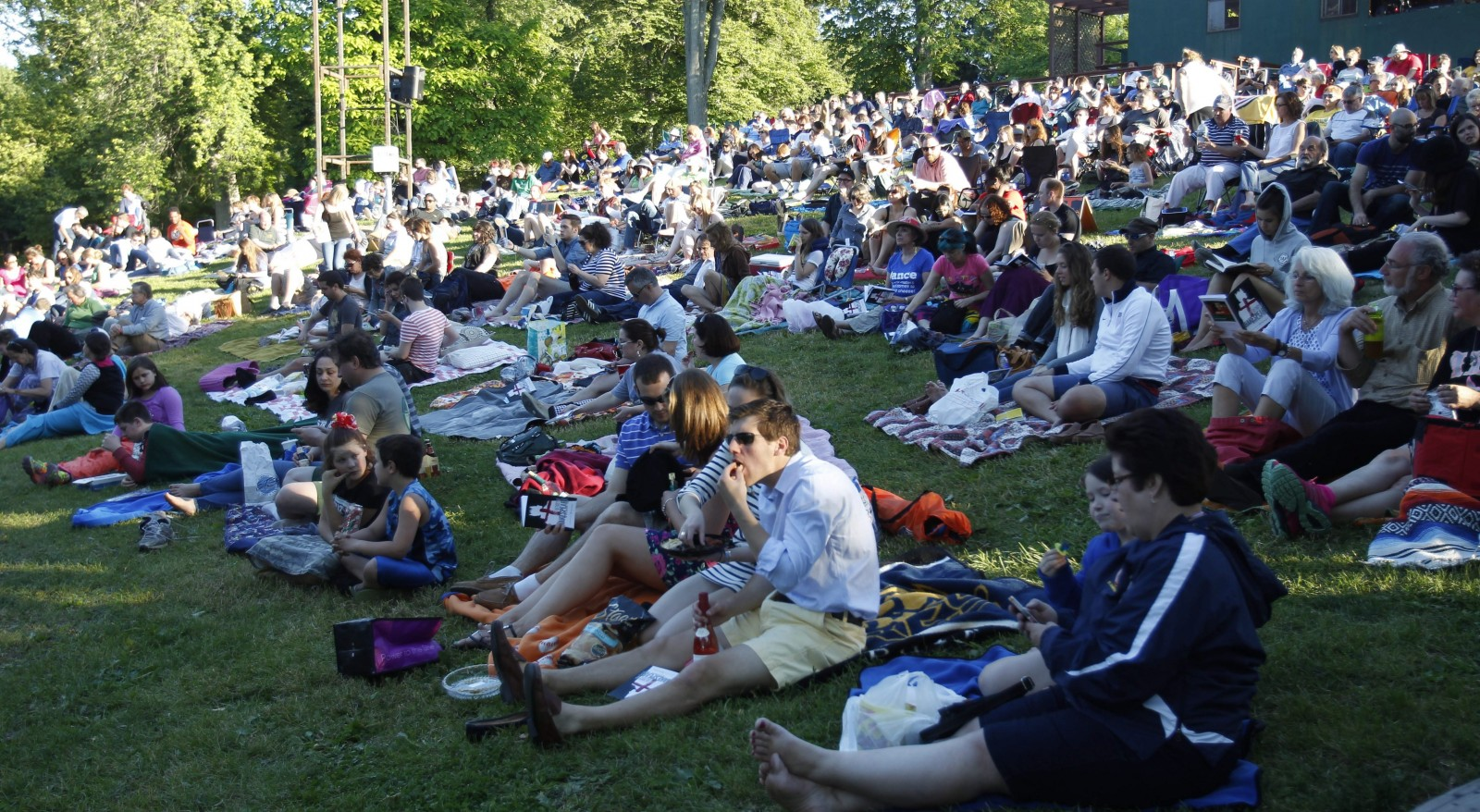 The 40th season of Shakespeare in the Park begins June 18. (Sharon Cantillon/Buffalo News file photo)