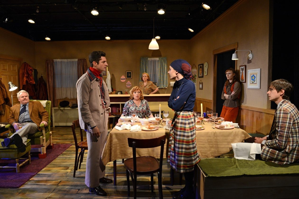 Buffalo-born playwright Laura Pedersen's play 'For Heaven's Sake,' shown here in its off-Broadway production in 2014, comes to 710 Main Theatre from Sept. 17 to Oct. 4.
