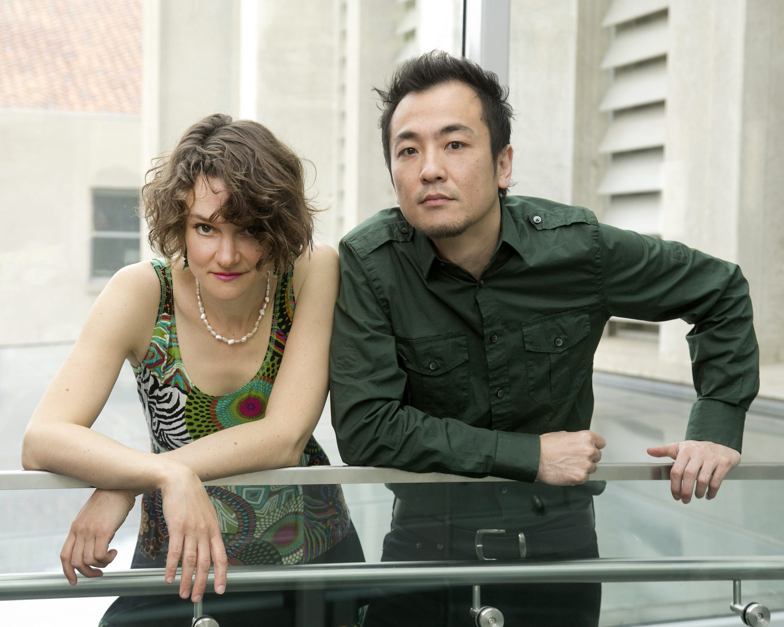 Zofo pianists Eva-Maria Zimmermann and Keisuke Nakagoshi play a beautiful disc of Terry Riley's work .