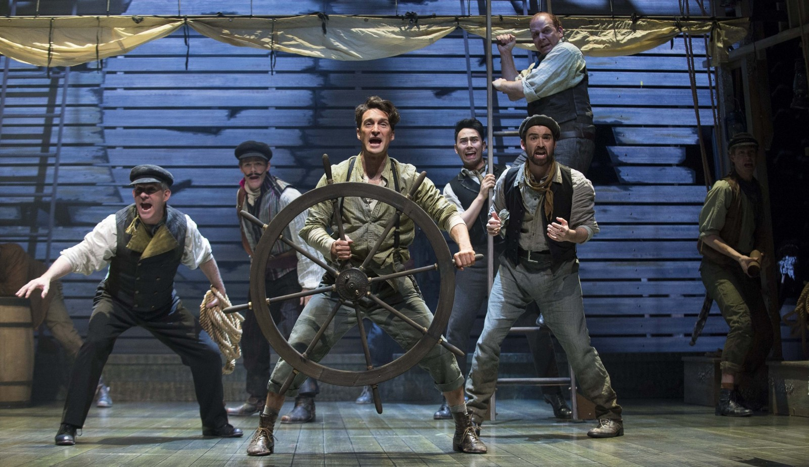 Charlie Gallant, center, stars in the Shaw Festival's production of 'Peter and the Starcatcher.'