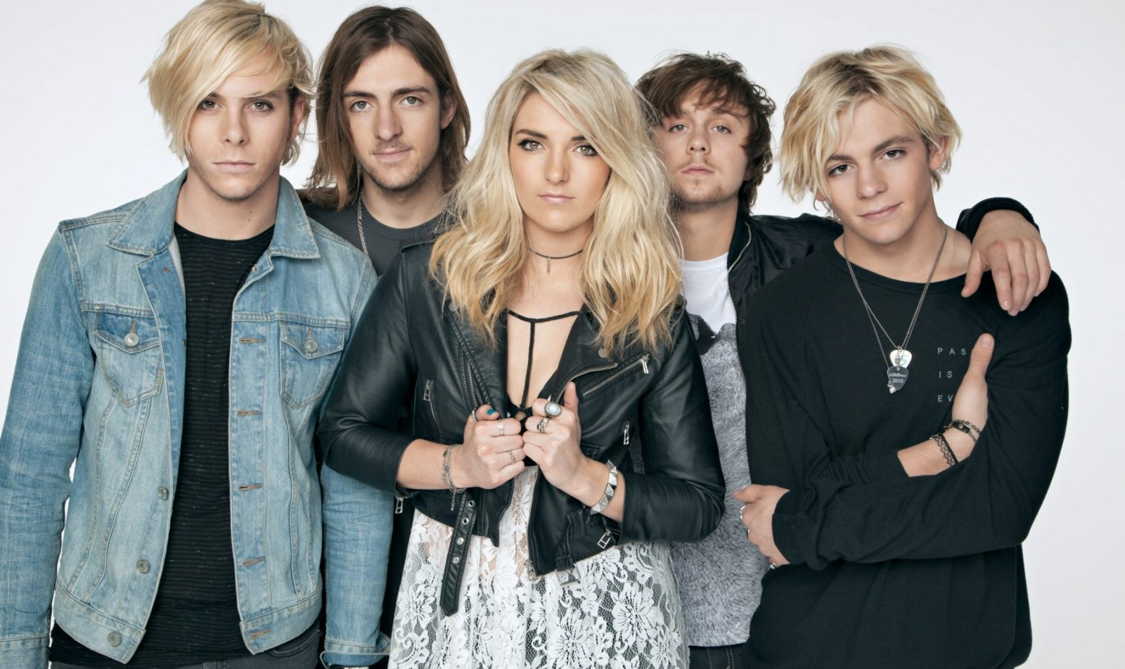 R5 performs at Kiss the Summer Hello on Saturday at Canalside.