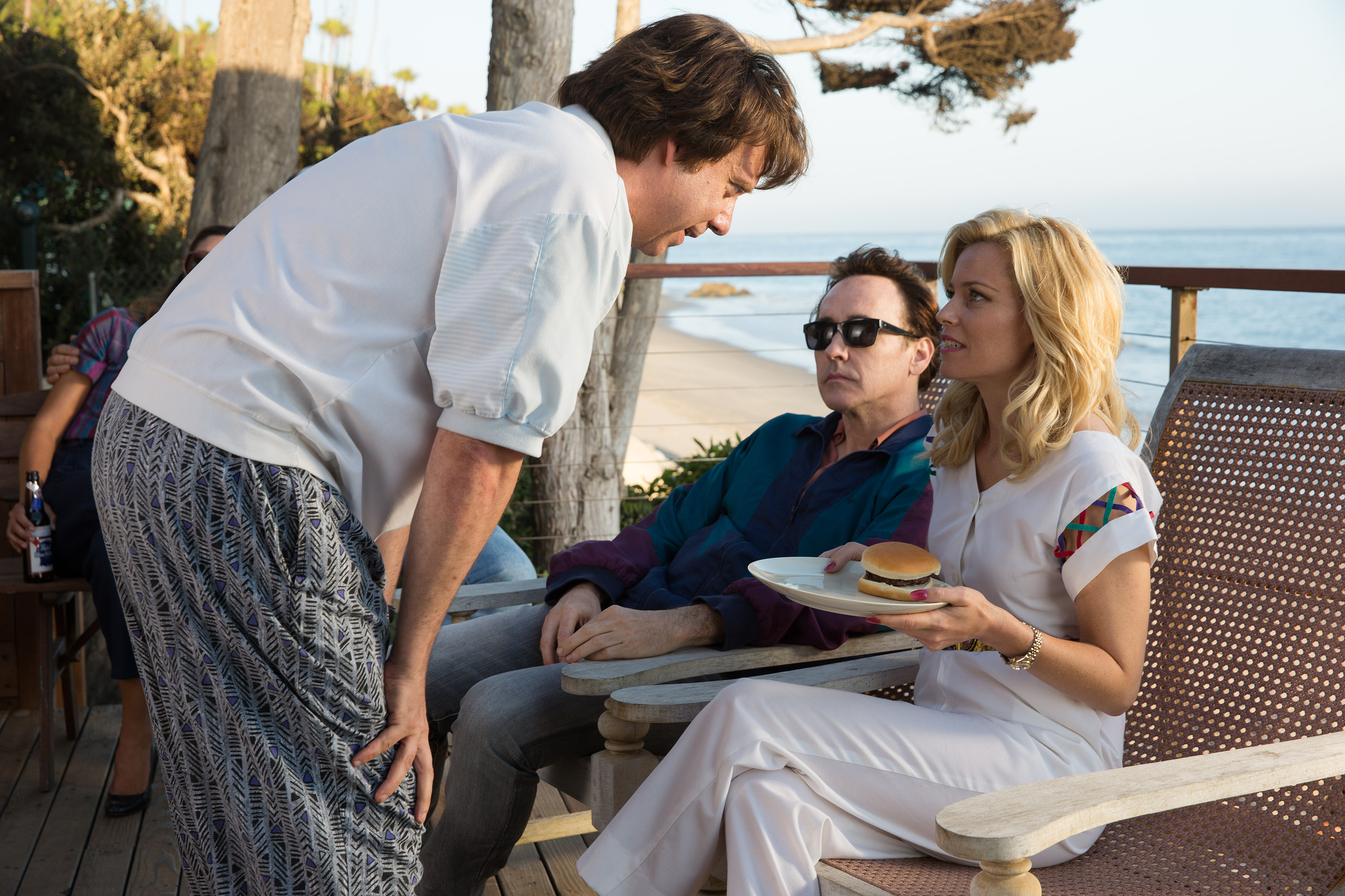 "Paul Giamatti, left, John Cusack and Elizabeth Banks star in ""Love & Mercy, "" William Pohland's biopic about Beach Boys' frontman Brian Wilson."