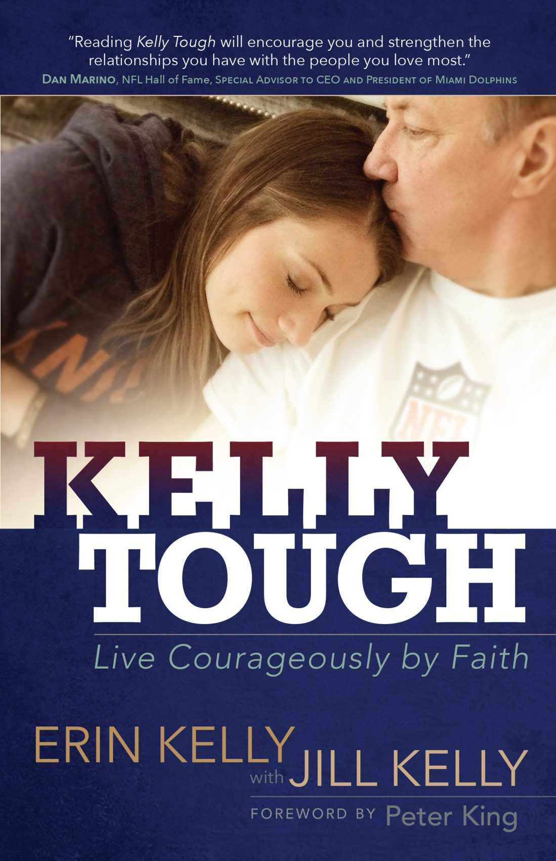 Erin Kelly found tears brought her strength.