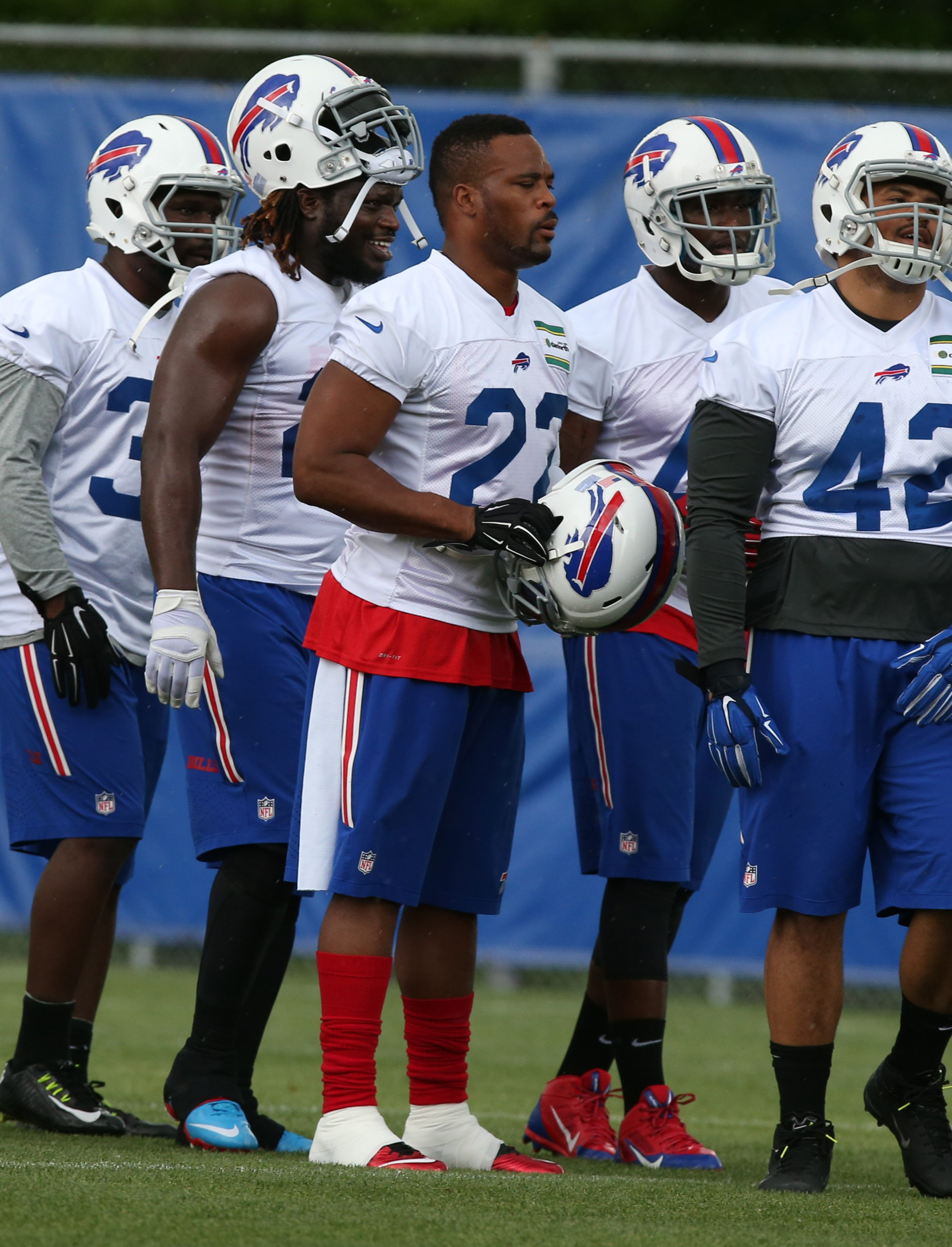 Because of his age, it's still possible Fred Jackson could be cut before the start of the season.