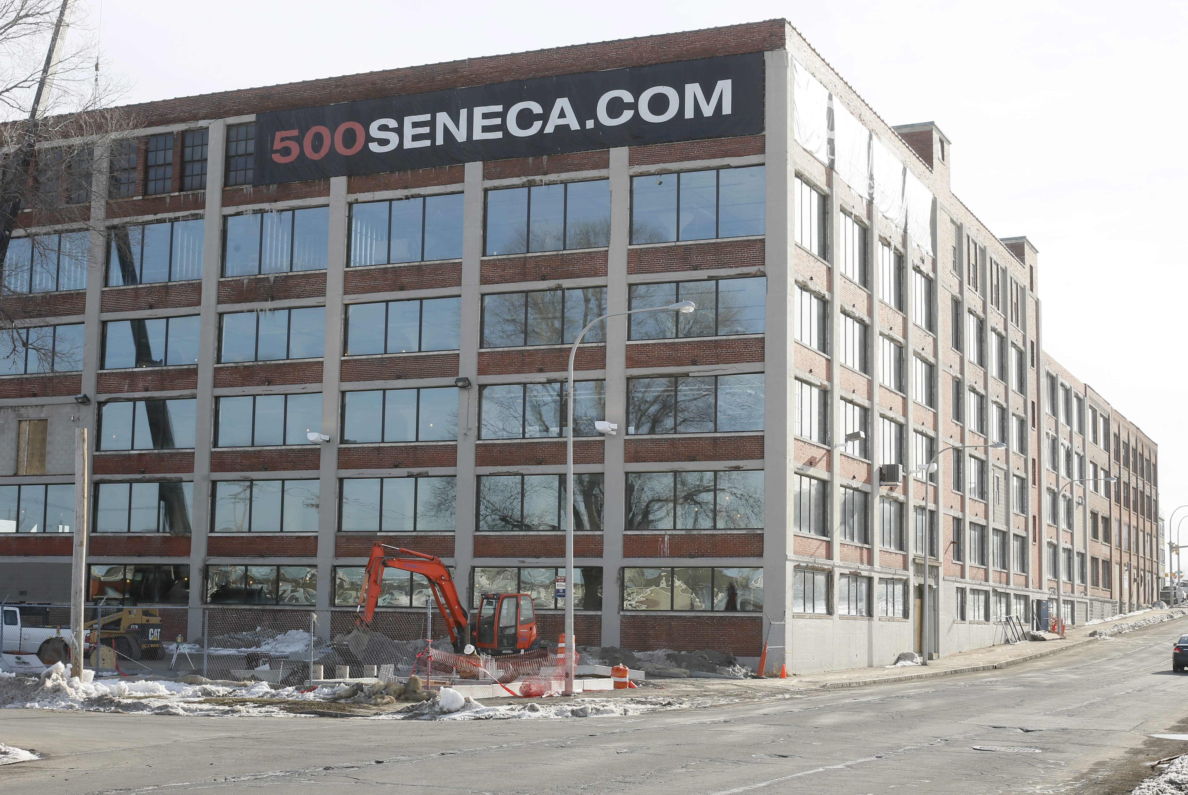 The former F.N. Burt factory at 500 Seneca St., which is being renovated into a mixed-use residential and commercial space, will receive an additional $370,000 in tax breaks. Nearly $1.2 million in incentives previously had been approved by the Erie County IDA.