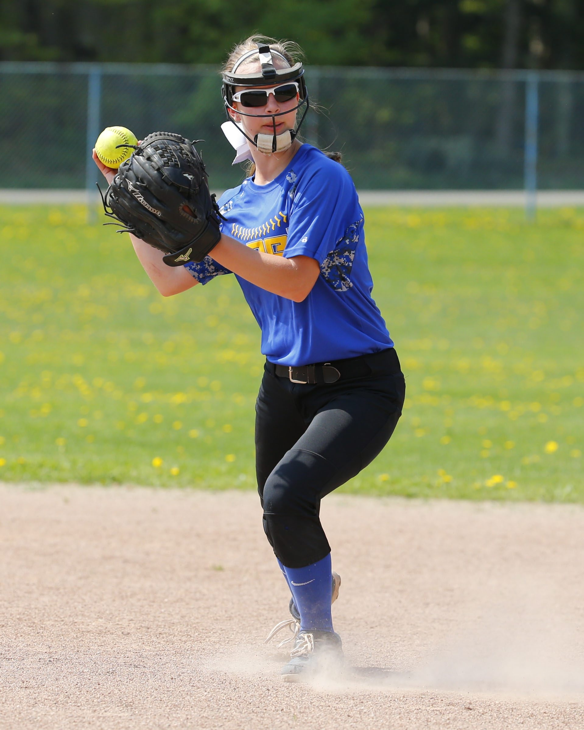 Alden's Jenna Wlostowski is only a freshman and is batting .455 for Alden, the No. 2 seed in Class B-1.