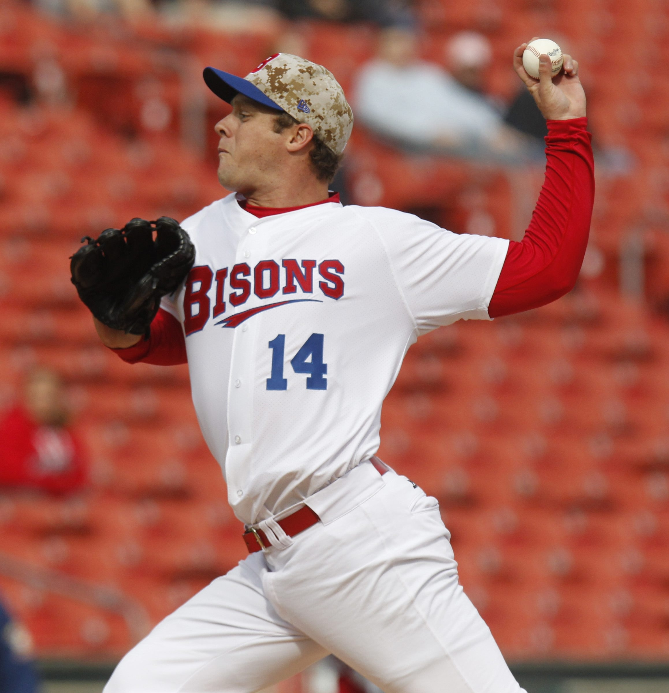 Andrew Albers has had some hard luck but won his second game Saturday.