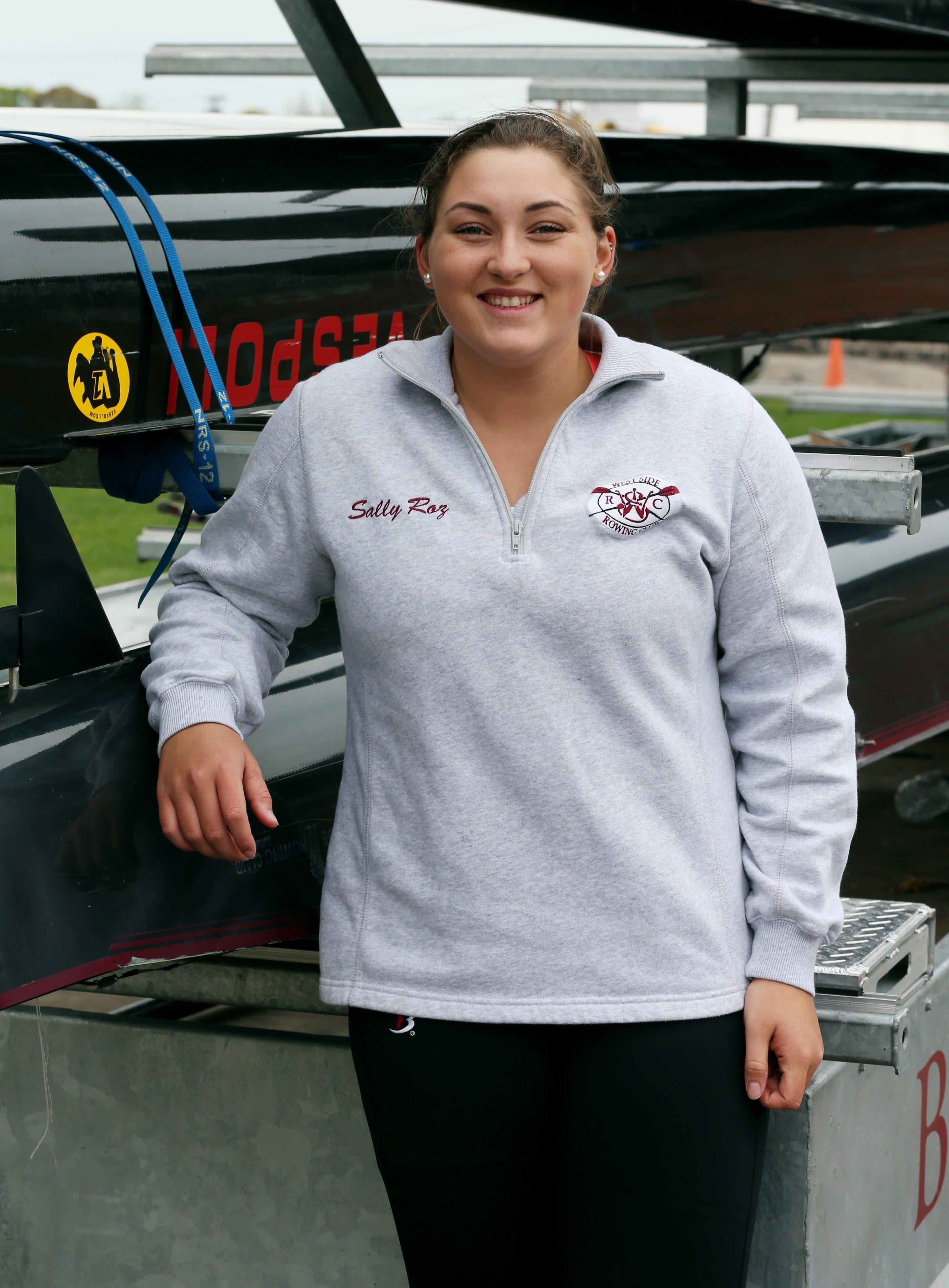 Niagara-Wheatfield's Sally Rozumalski turned curiosity into a Division I scholarship at Louisville.