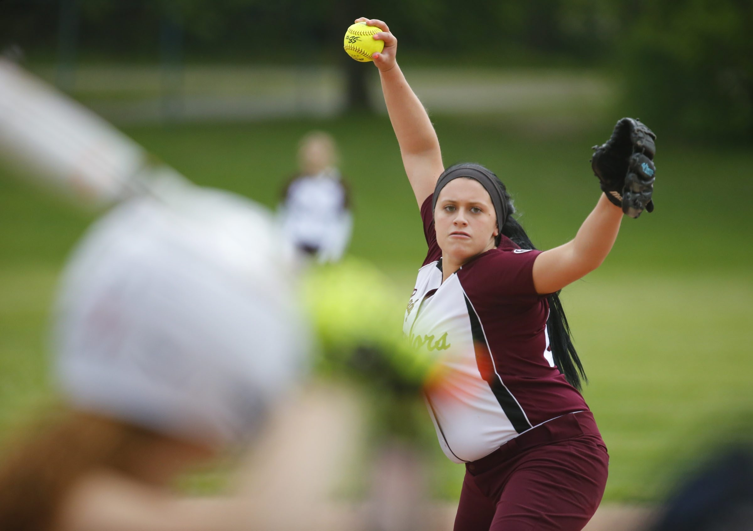 Rachel Allen struck out 11 during Tonawanda's 2-0 victory at Eden in a key ECIC IV softball contest.