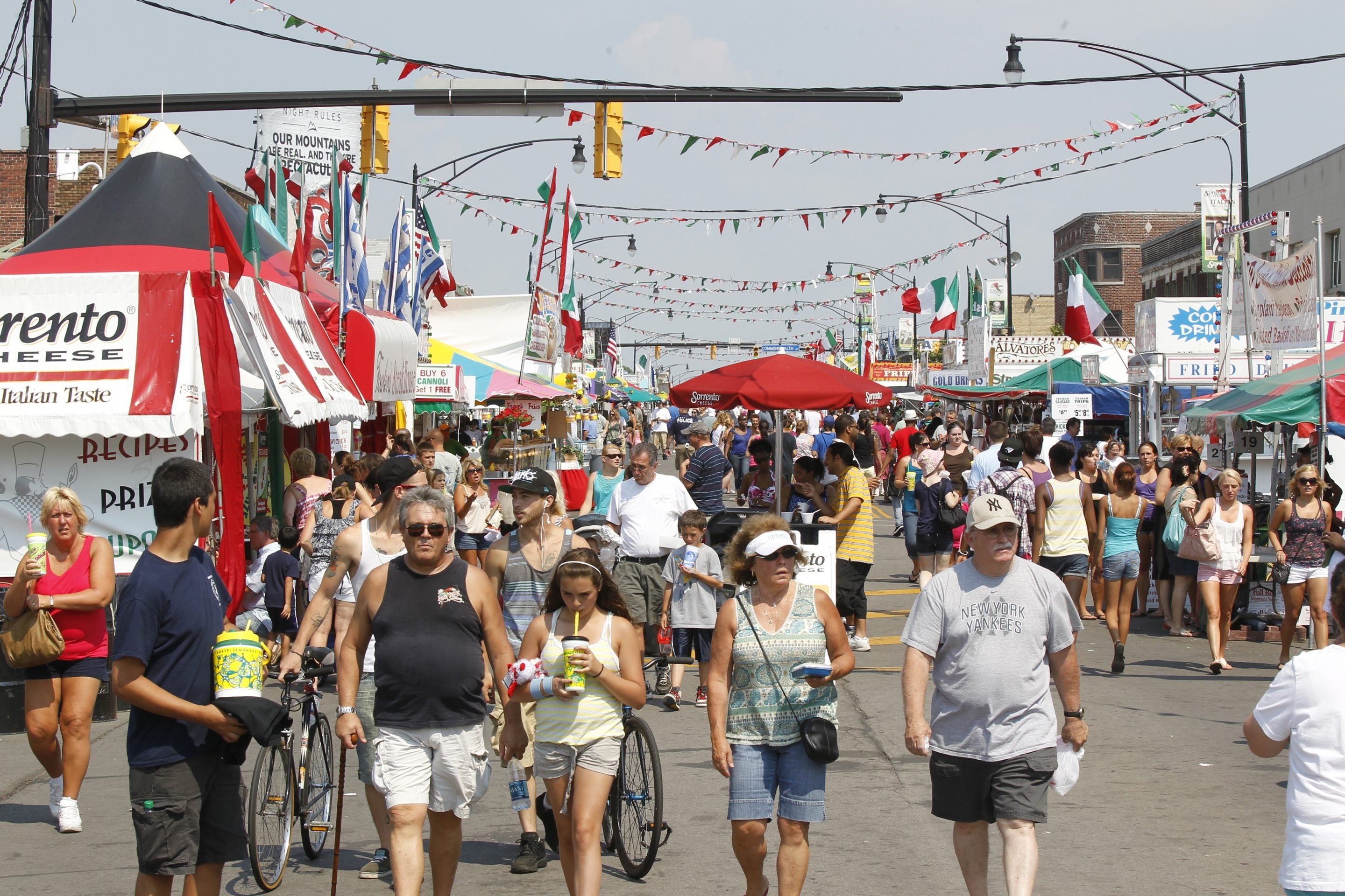 Gusto is seeking submissions for its annual Festival Guide that will include information on such crowd favorites as the Italian Festival. (Harry Scull Jr. / News file photo)