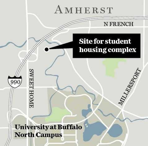 firms buy 28 acres near UB to build student housing ... on