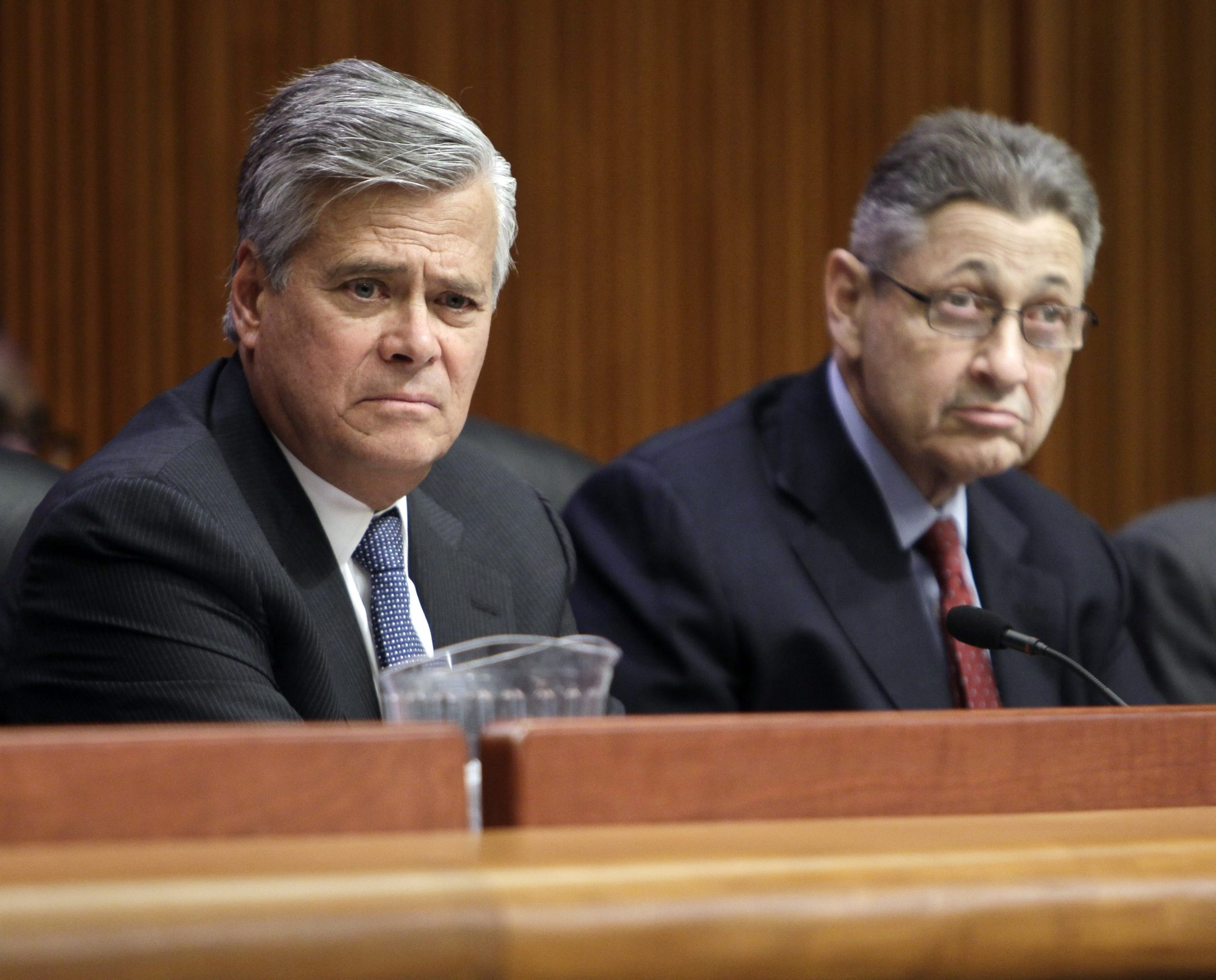 Whether Sen. Dean G. Skelos remains as the majority leader is a taboo topic.