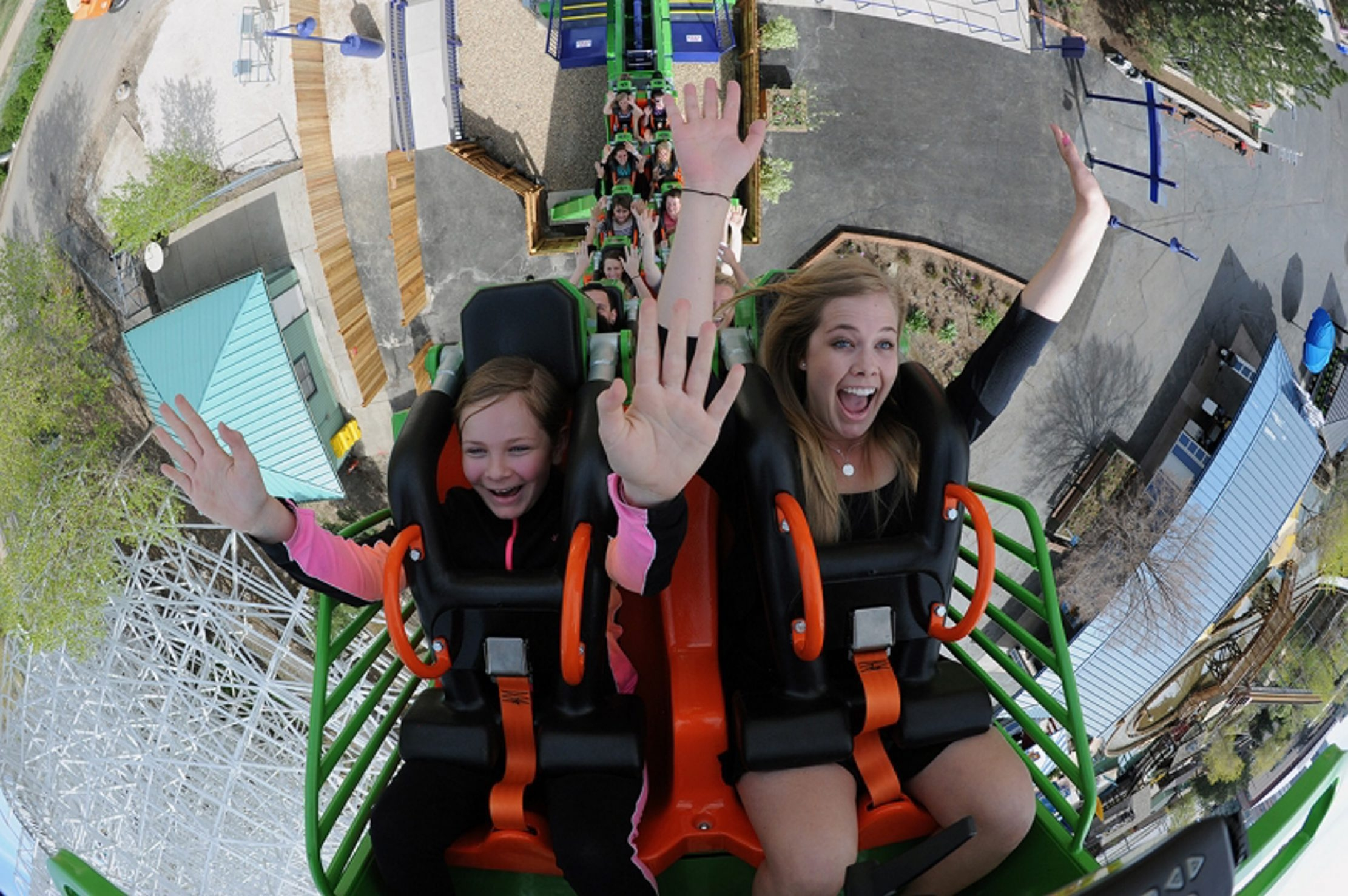 Rolling Thunder, a seven-story high-speed coaster that travels on a vertical, circular steel loop, will start being built this month in anticipation of Darien Lake's May 9 opening.