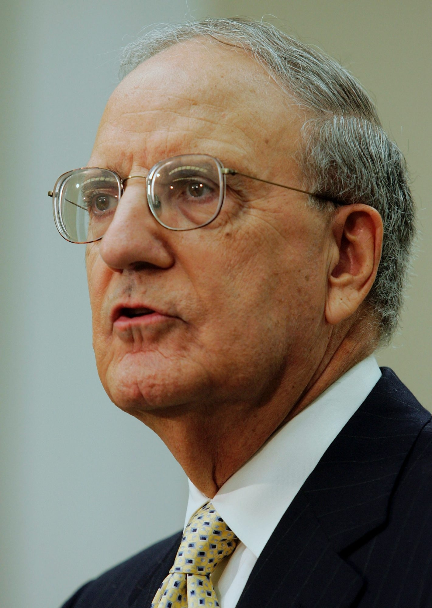 George Mitchell says key to negotiating is to talk less, listen more.