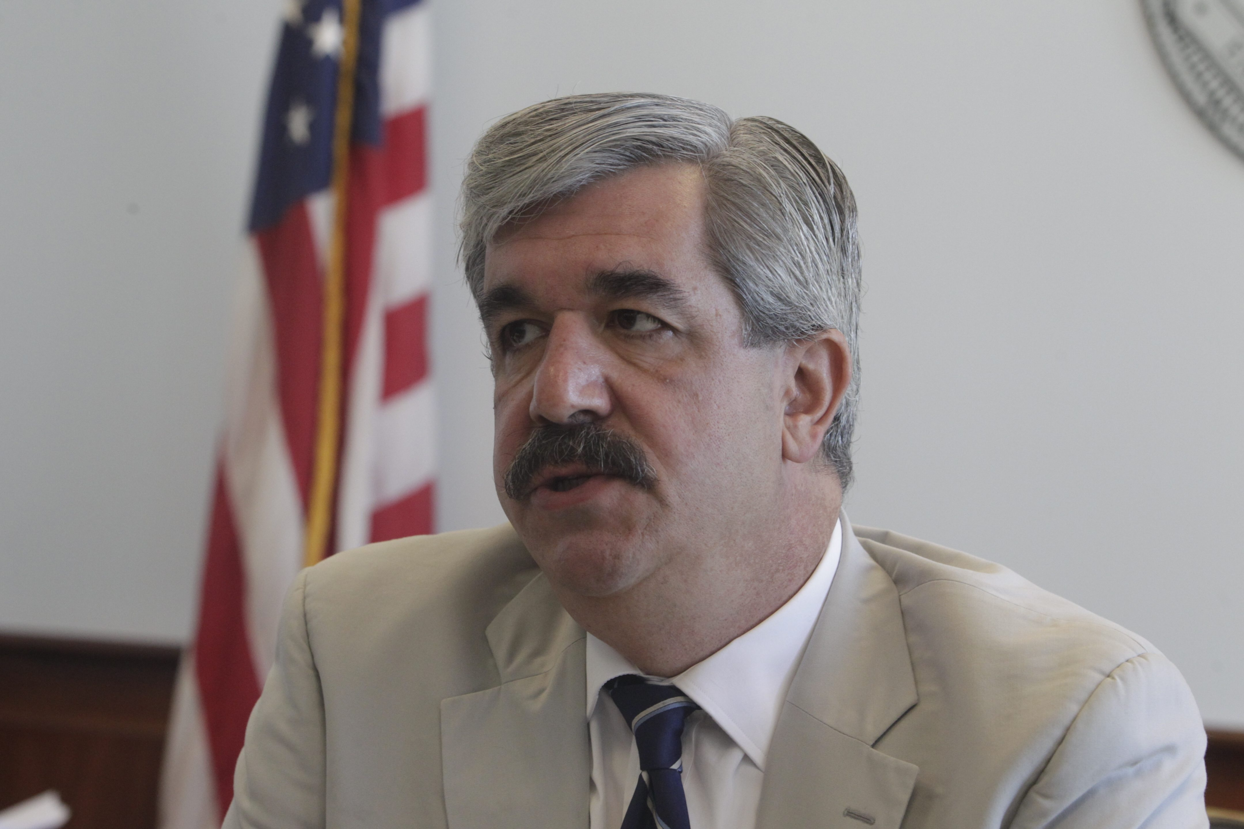 District Attorney Frank A. Sedita said ''I've never seen a judge's decision that attacks a juror like this.' (News file photo)