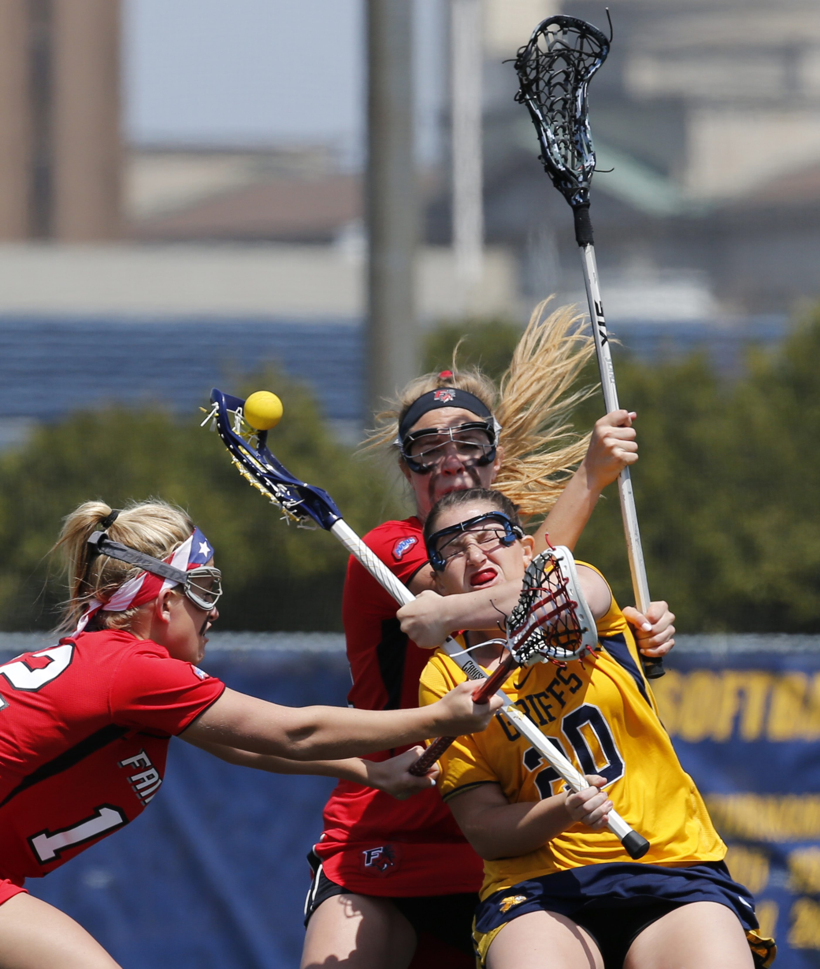 Canisius's Tori Quinn had two goals in the loss and ended her career with 154, tying the team record.