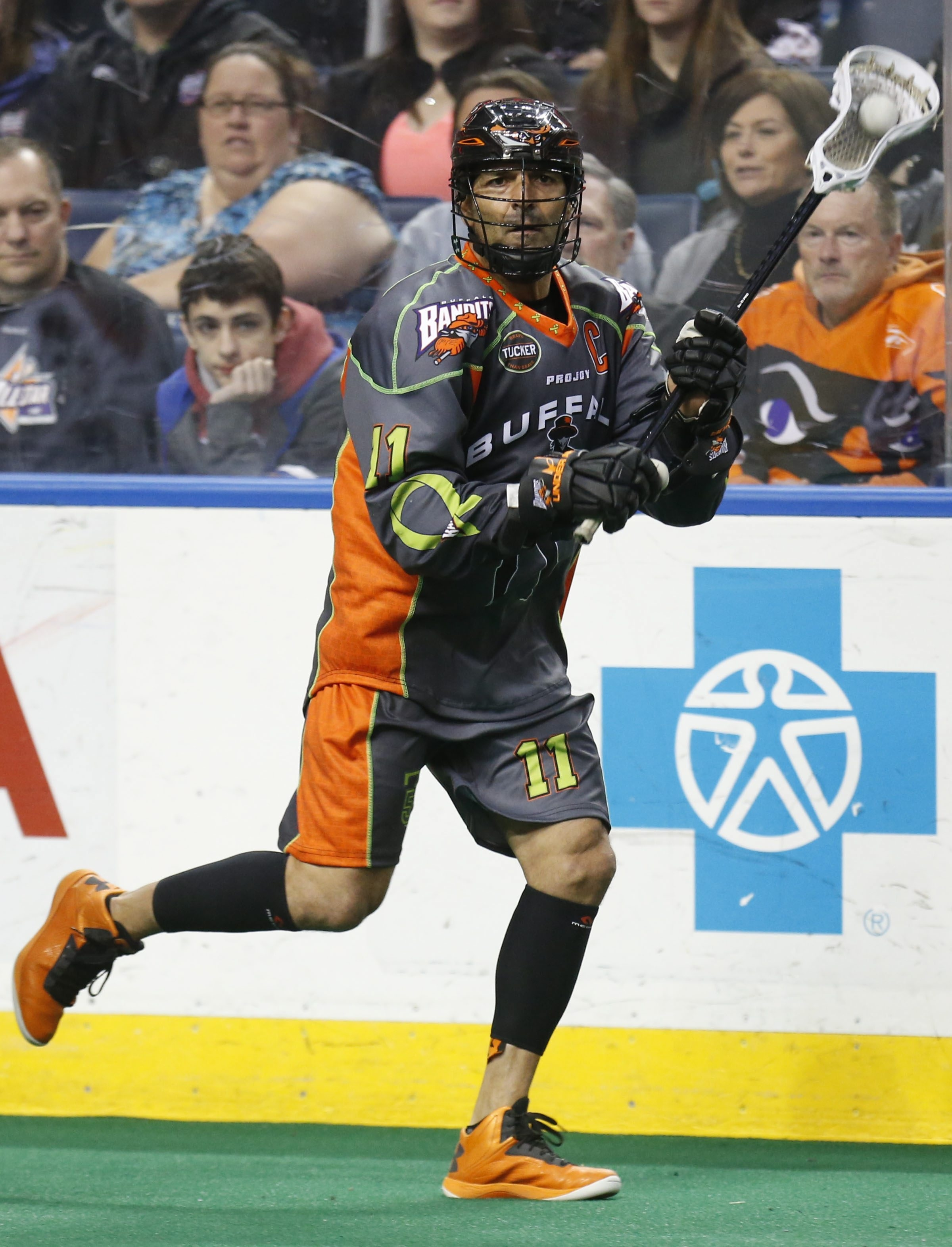 At age 46, Bandits legend John Tavares knows the clock is ticking on his career.