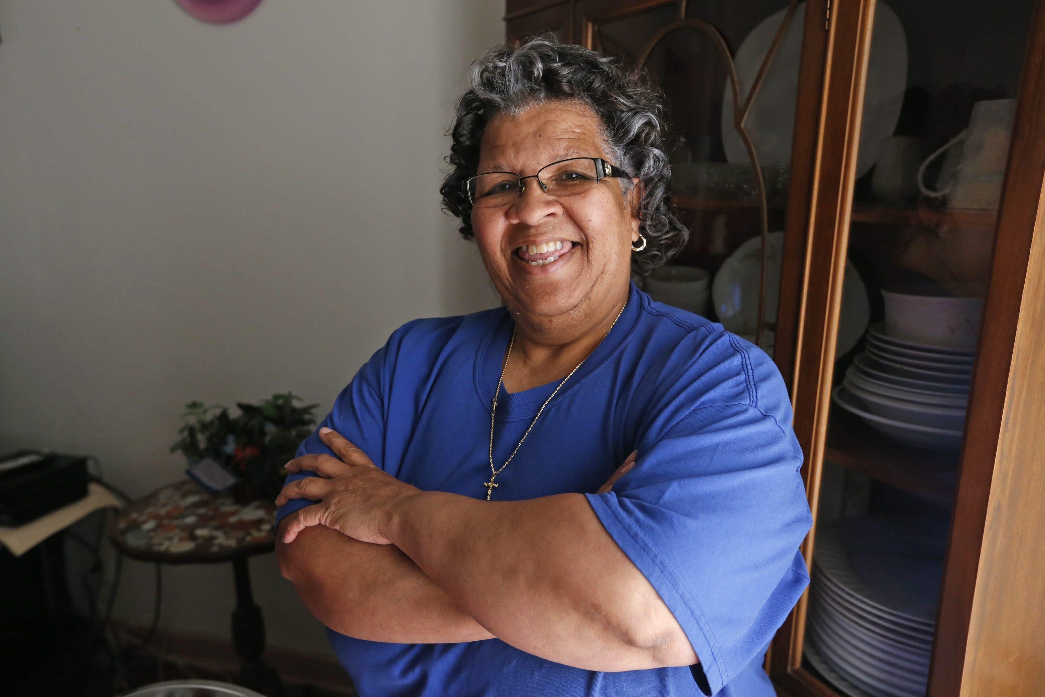 Vanessa Scott says her outreach center on Fourth Street in Niagara Falls helps women develop self-esteem.