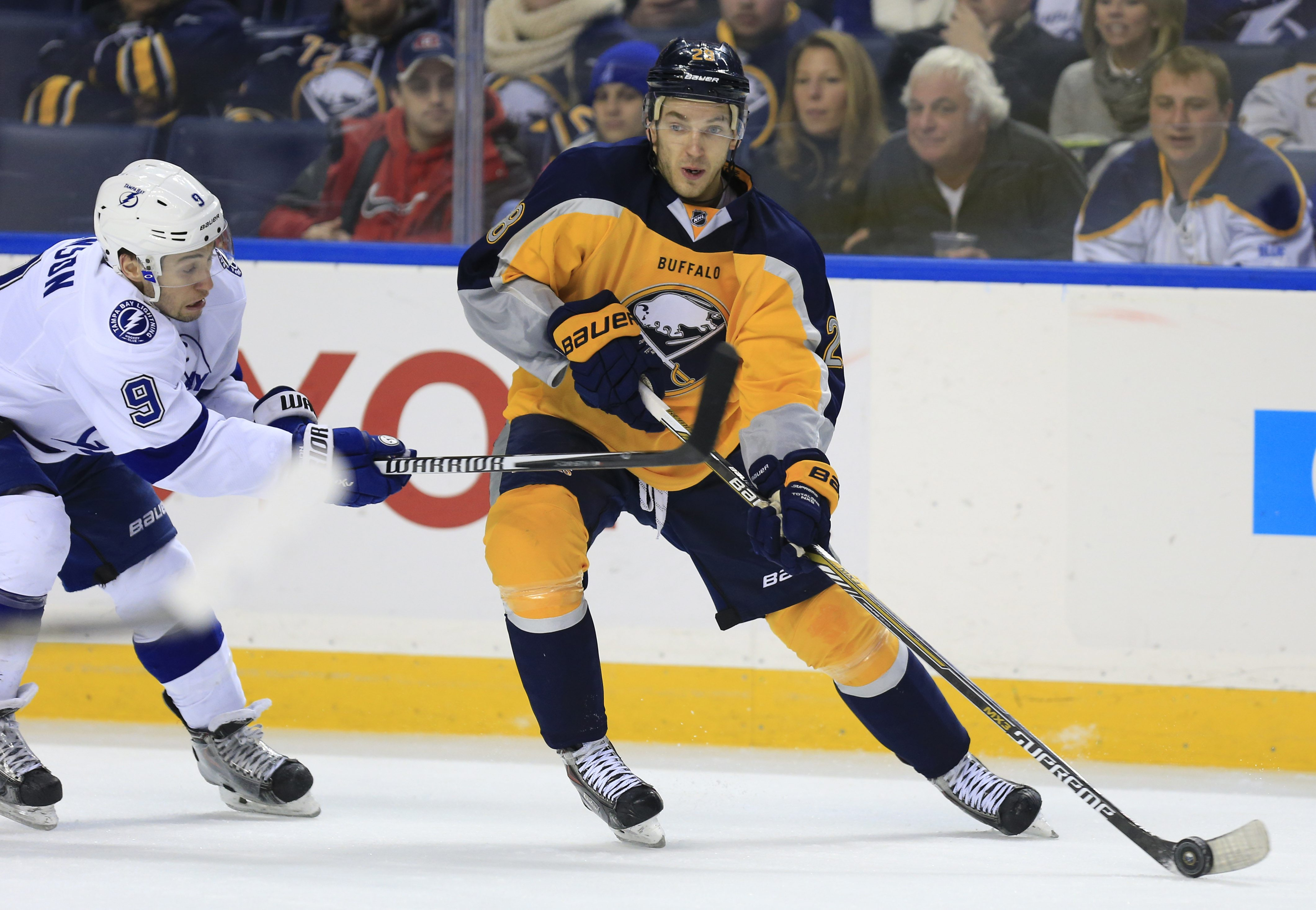 Sabres' Zemgus Girgensons made a major leap during his second full season as a pro. He finished second on the team in goals (15) and fourth in points (30) despite missing 21 games. He has the drive and skill to play in every situation.