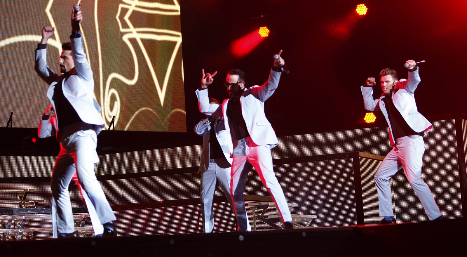 Backstreet Boys, performing above at Darien Lake Performing Arts Center in 2014, will be the focus of a documentary shown at Regal Transit and Elmwood.  (Sharon Cantillon/Buffalo News)