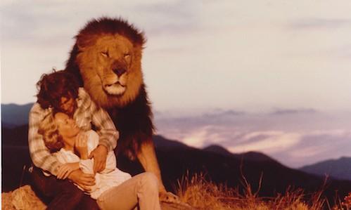 'Roar,' starring Tippi Hedren and Noel Marshall, was filmed over 11 years.