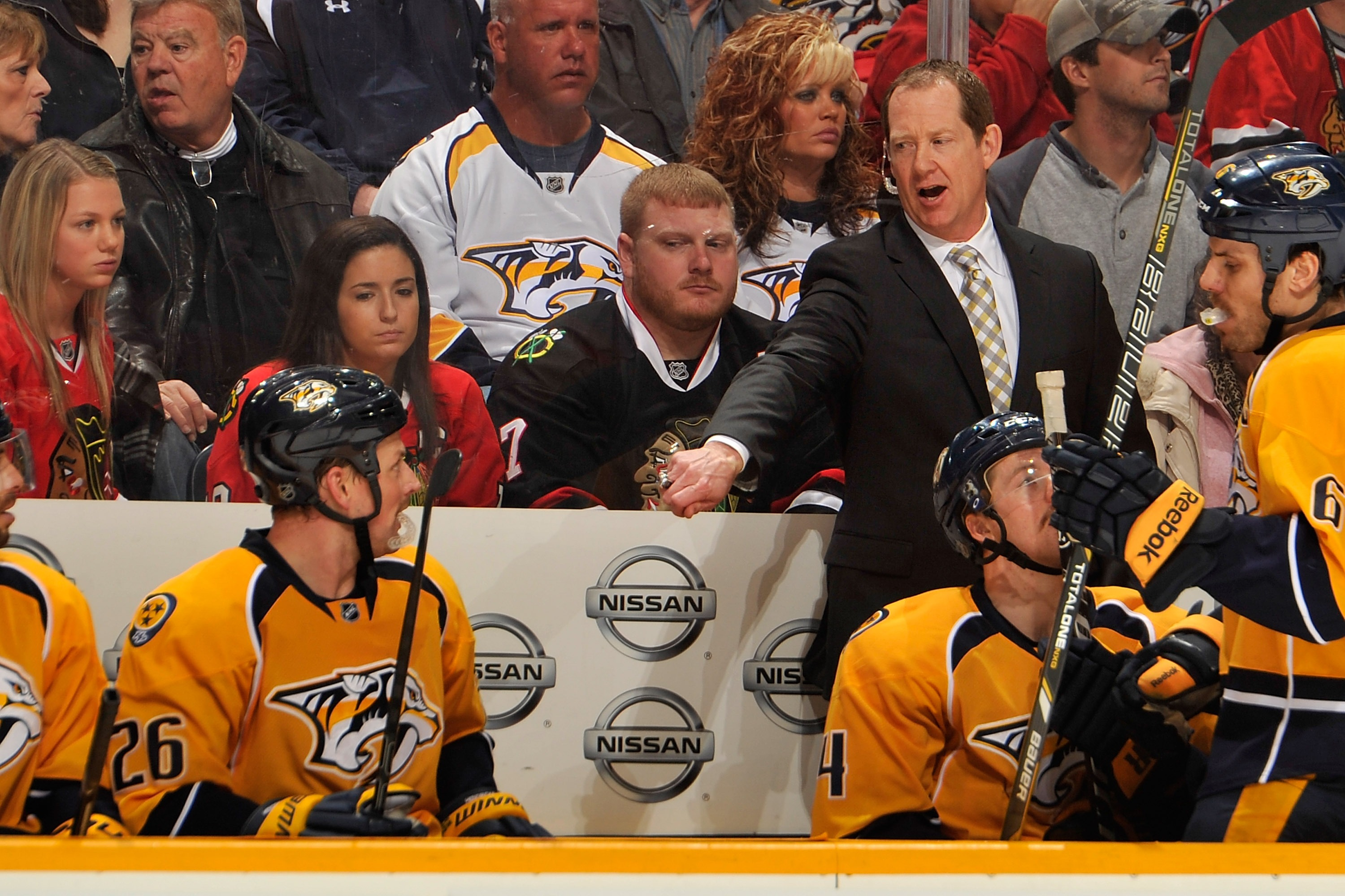Nashville assistant and former Sabres star Phil Housley could be the new head coach of the New Jersey Devils (Getty Images).