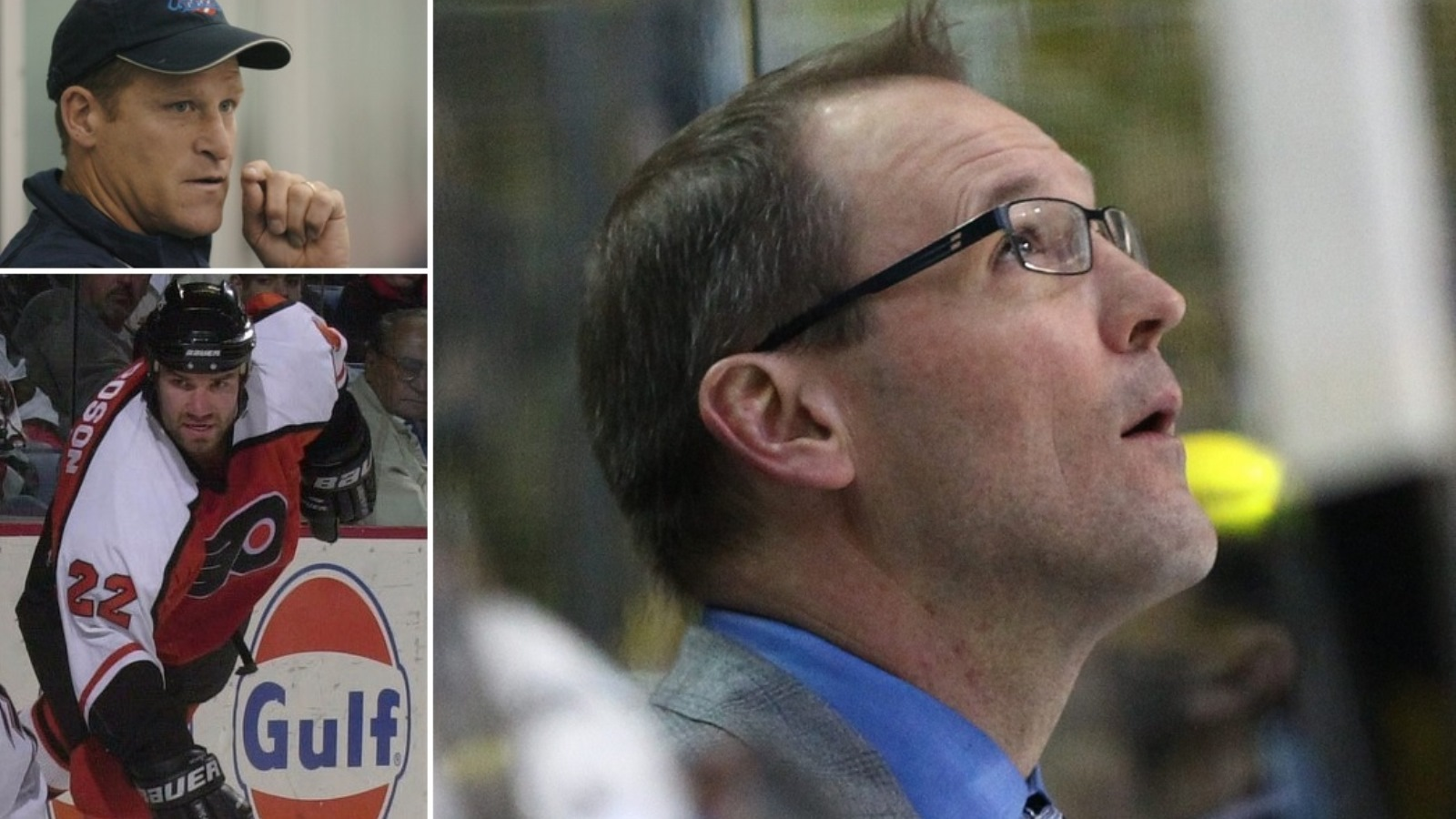 Clockwise from top left: Randy Cunneyworth, Dan Bylsma and Luke Richardson. (Buffalo News file photos)