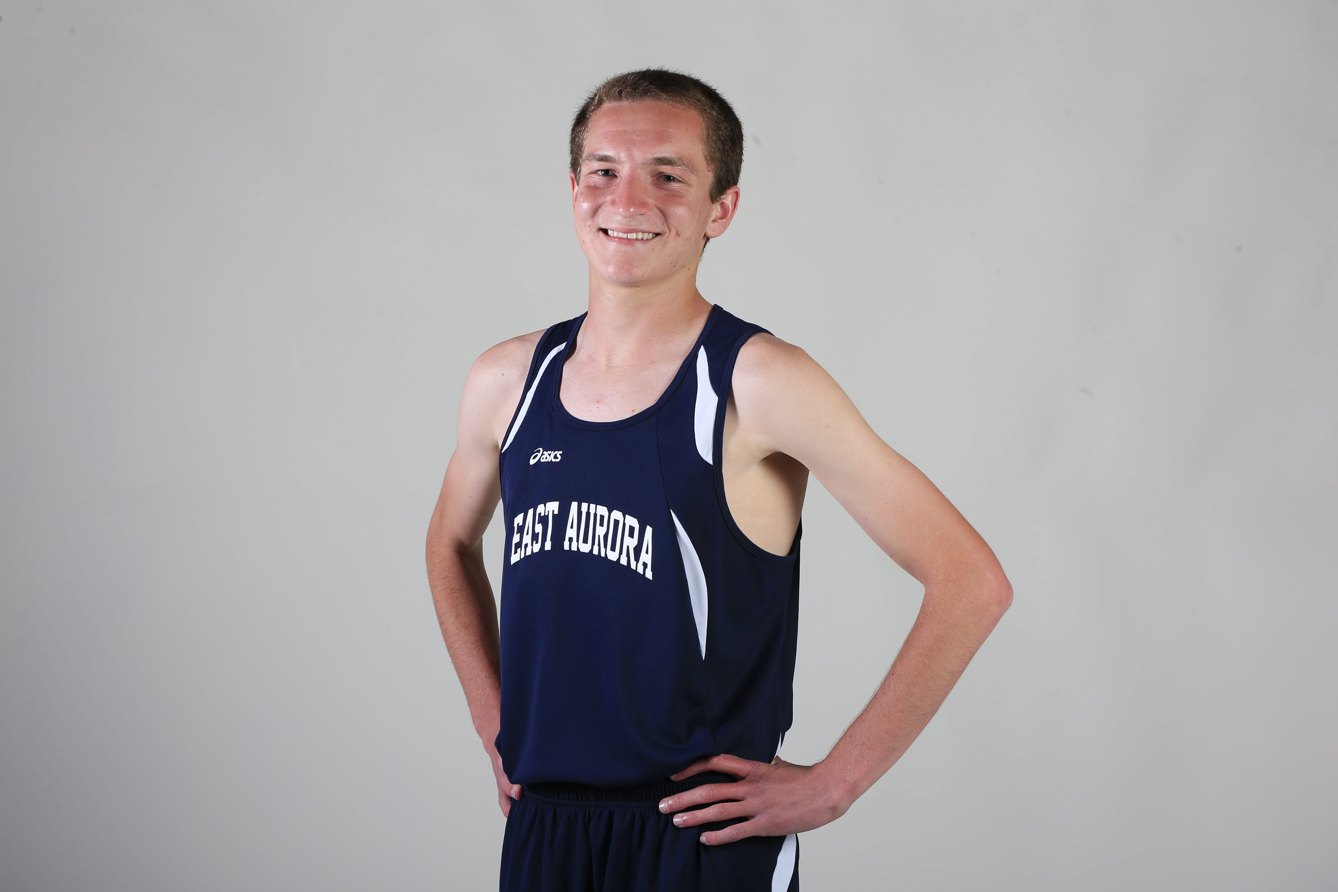 2014-15 Prep Talk Player of the Year for boys cross country: Kenny Vasbinder, East Aurora. (Harry Scull Jr./Buffalo News)