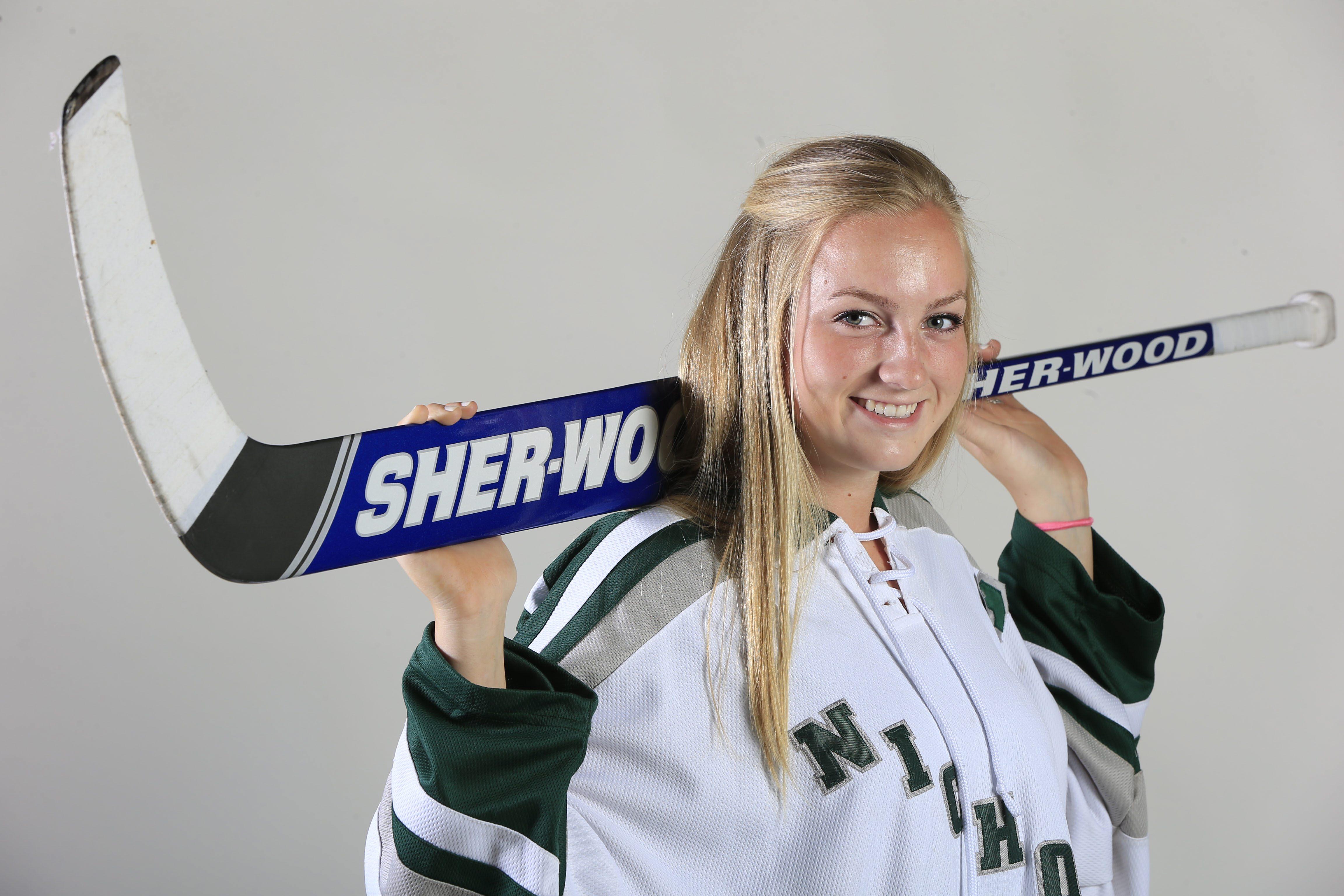 Prep Talk Player of the Year for girls hockey: Maddi Welch, Nichols. (Harry Scull Jr./Buffalo News)
