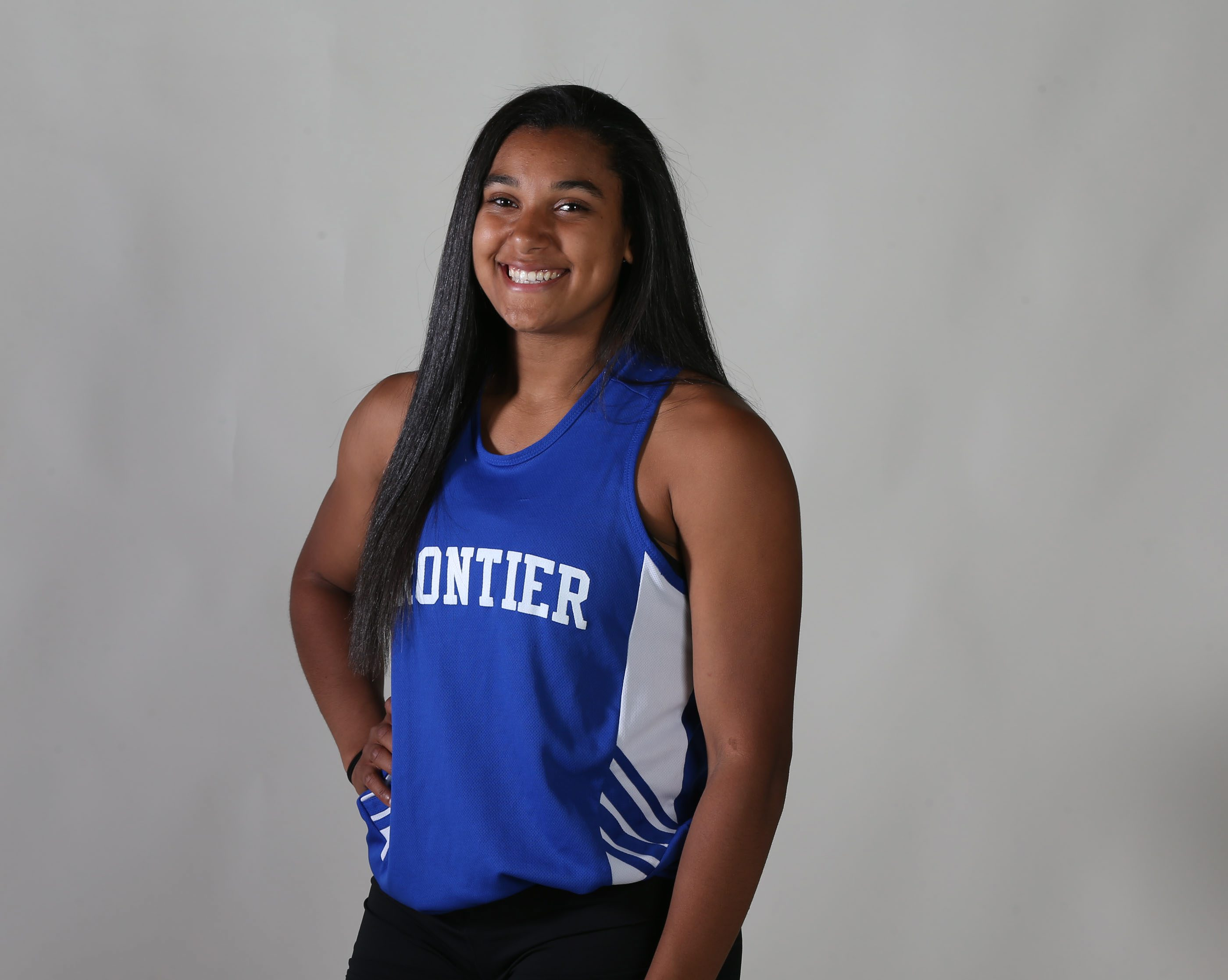 Prep Talk Player of the Year for girls indoor track: McKyla Brooks, Frontier. (James P. McCoy/ Buffalo News)