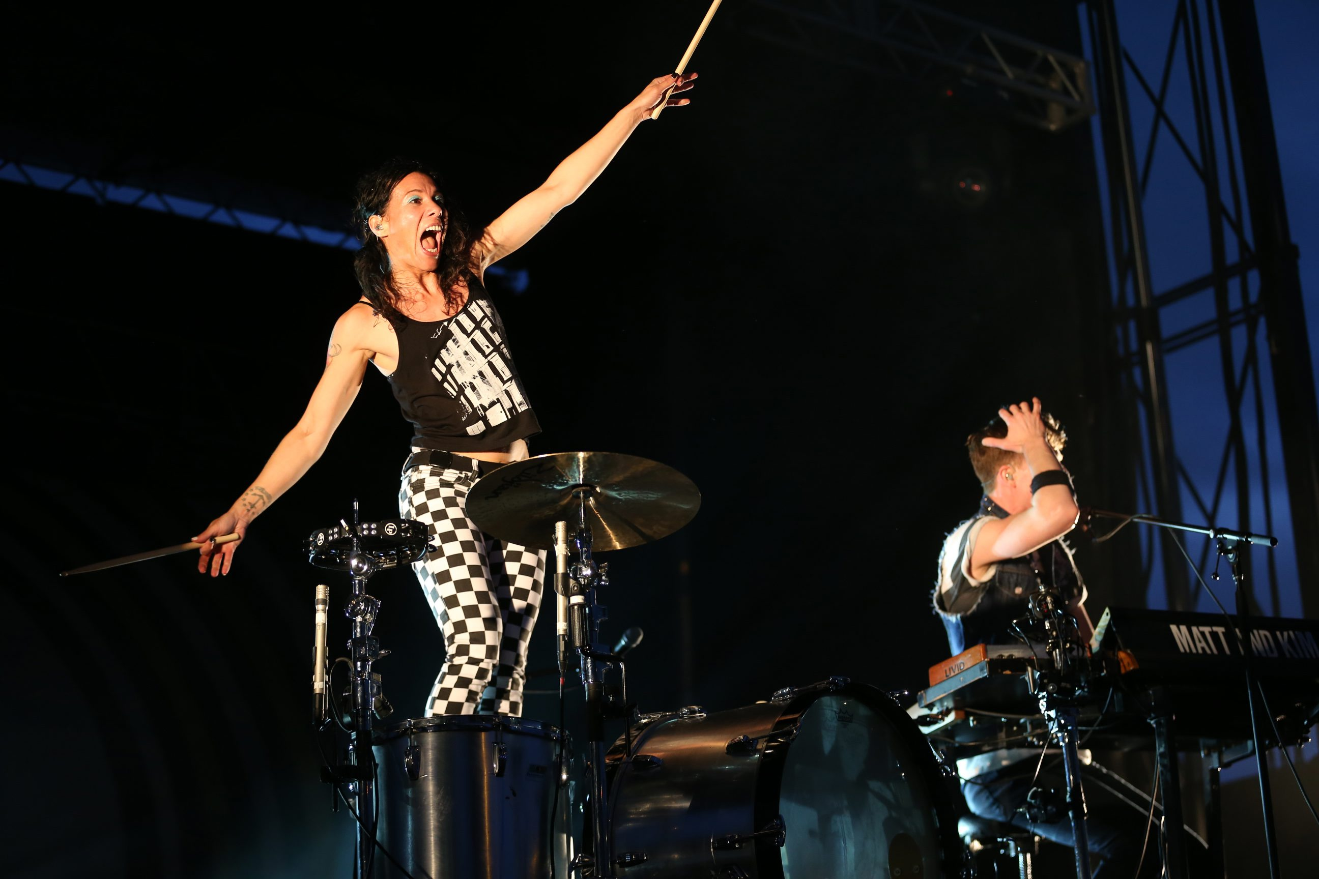 The free Thursday Canalside Concert series opened on a beautiful night with headliners Matt & Kim, a Brooklyn-based dance pop duo, giving a high-energy show. Photo gallery at buffalonews.com; more photos on Picture Page, D12.